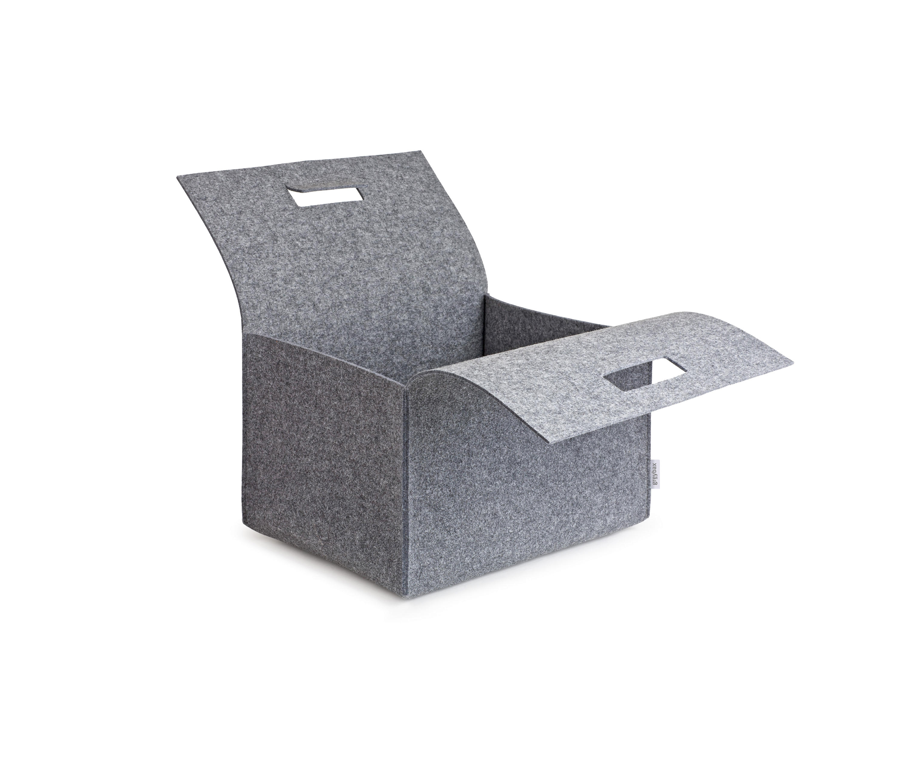 Porter Felt Carry Box by greybax | Storage boxes ...  sc 1 st  Architonic & PORTER FELT CARRY BOX - Storage boxes from greybax | Architonic