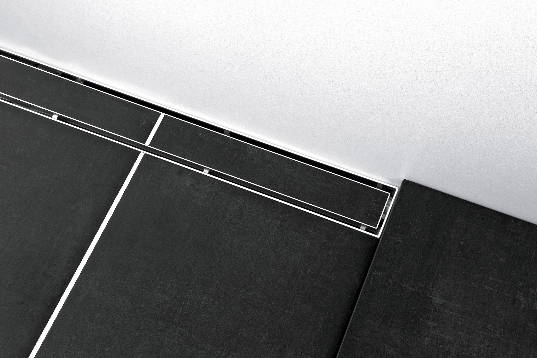tecedrainline duschrinne plate duschabl ufe duschroste von tece architonic. Black Bedroom Furniture Sets. Home Design Ideas