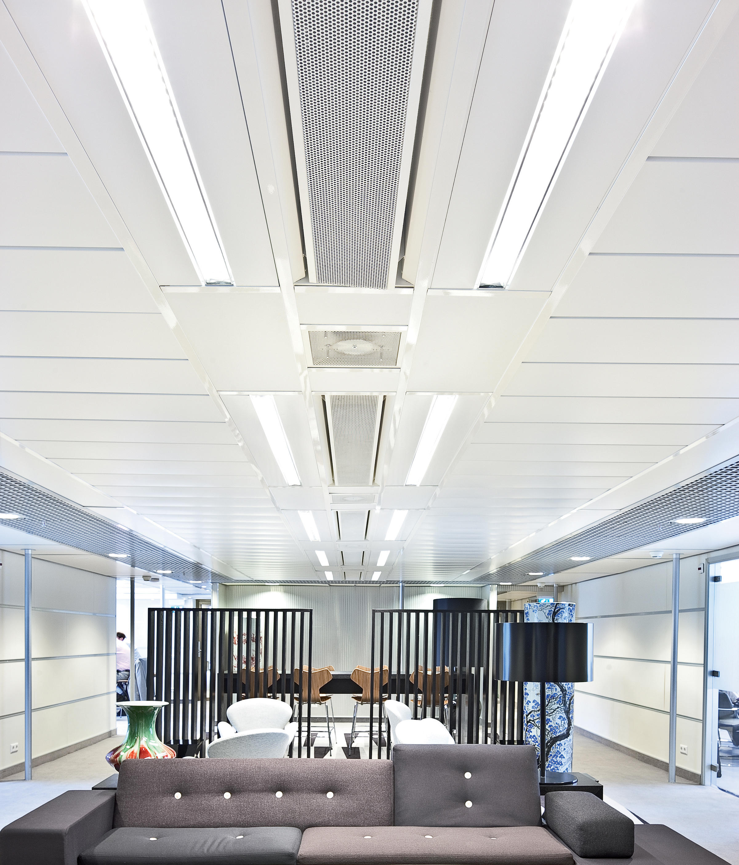 Metal Ceiling Wide Panel By Hunter Douglas | Ceiling Panels