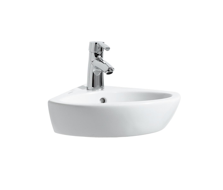 laufen pro b corner washbasin wash basins from laufen architonic. Black Bedroom Furniture Sets. Home Design Ideas