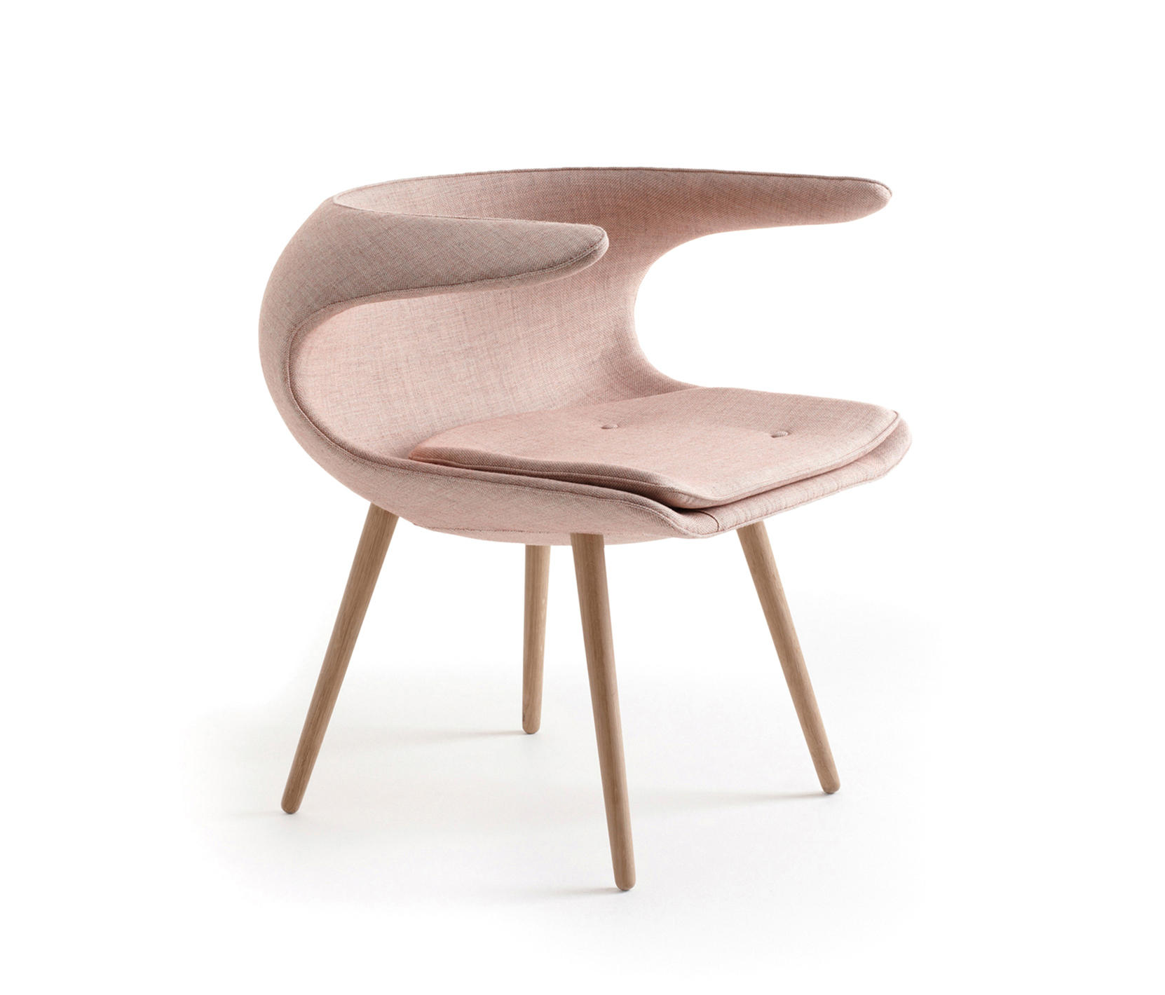 Frost chair visitors chairs side chairs from stouby for Scandinavian furniture