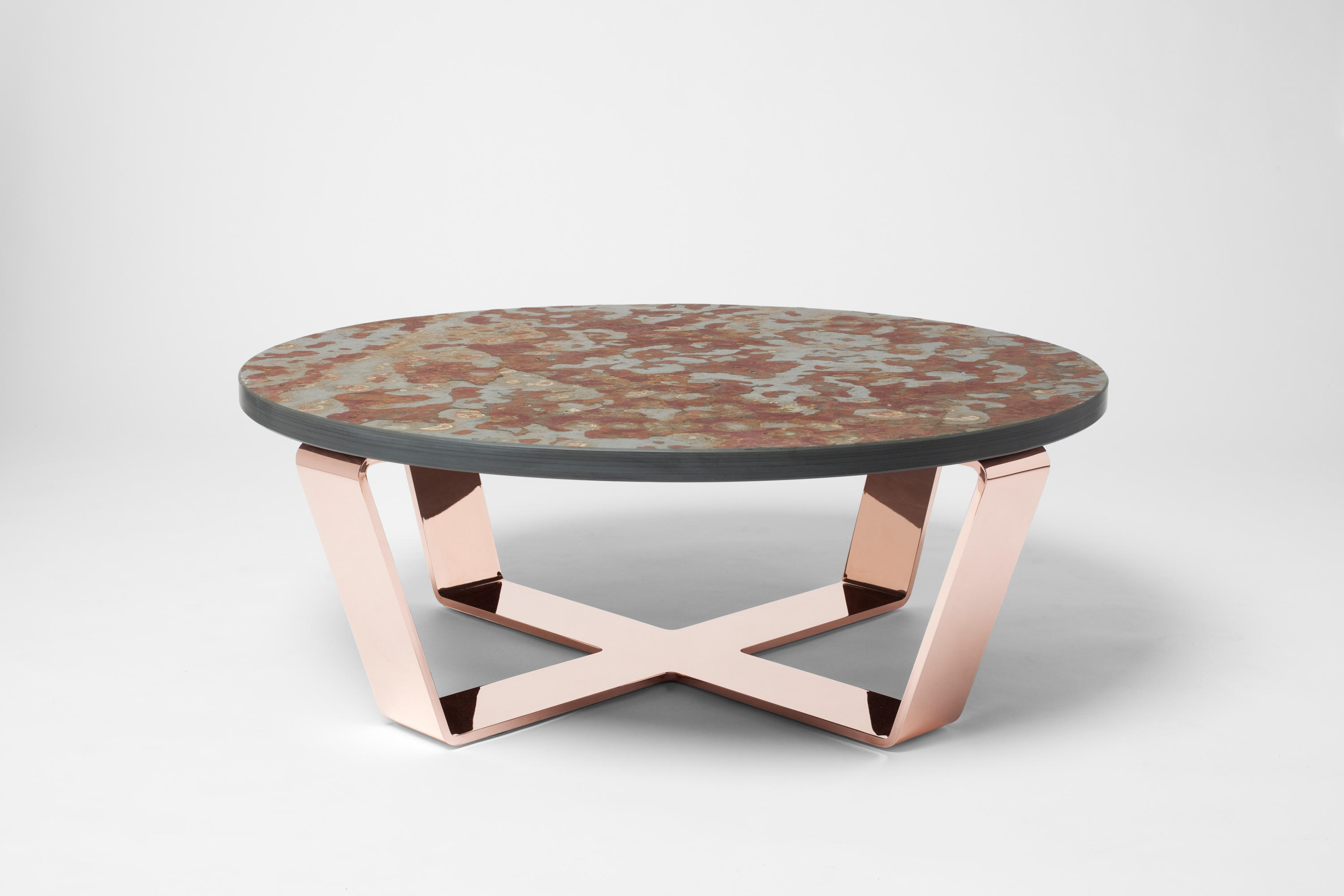 SLATE TABLE COPPER BRASIL