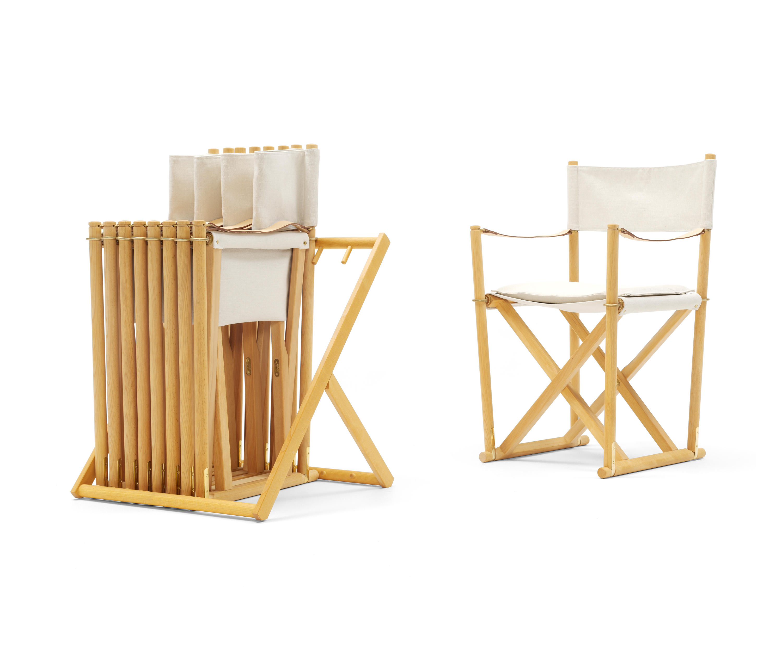 FOLDING CHAIR Garden chairs from Carl Hansen & S¸n