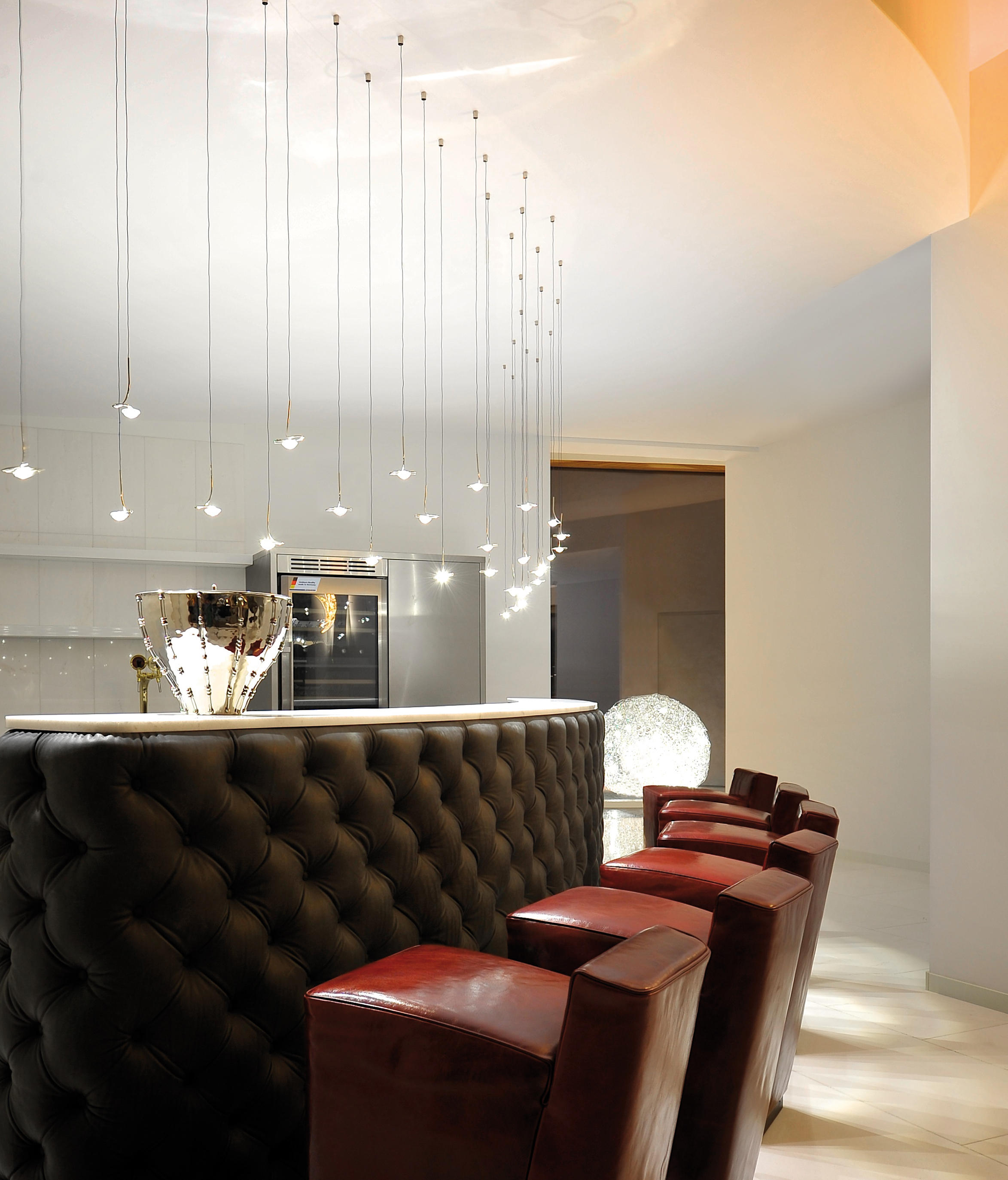 jackie o bjc suspended lights from catellani smith architonic. Black Bedroom Furniture Sets. Home Design Ideas