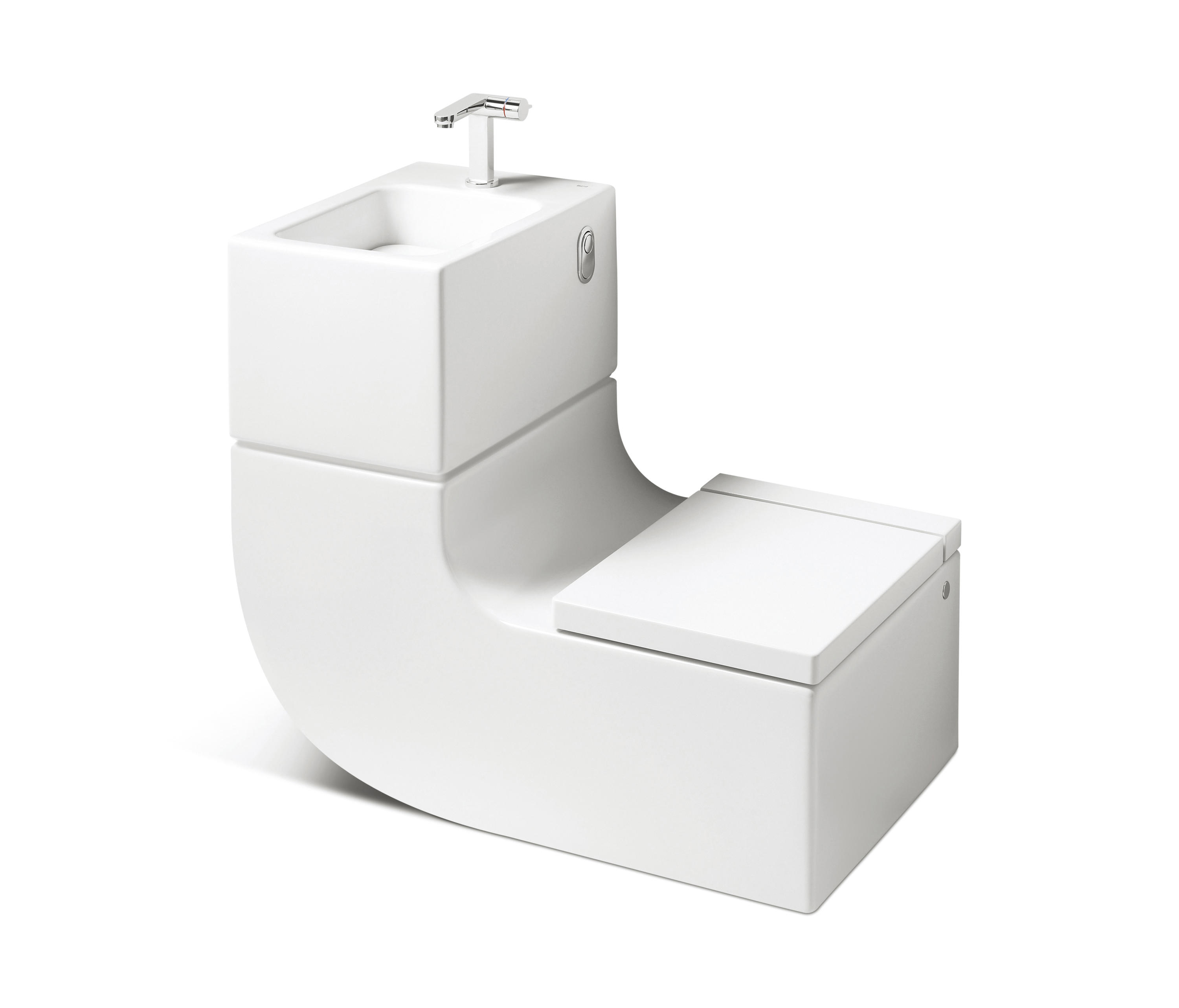 W+W | Washbasin + WC by ROCA | Toilets