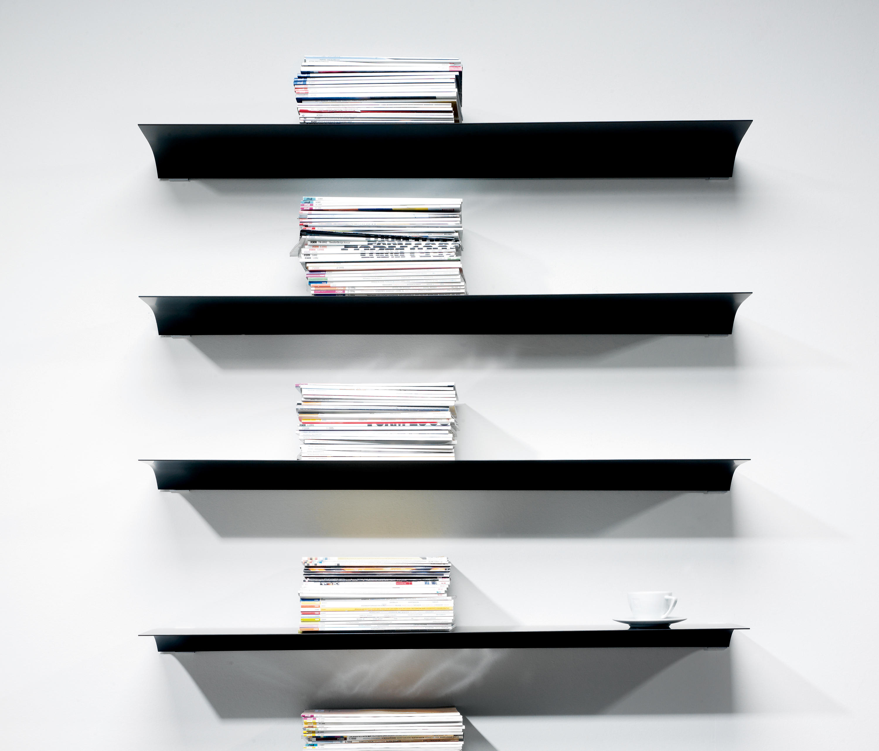 Exilis Wall-Mounted by nonuform | Office shelving systems ...