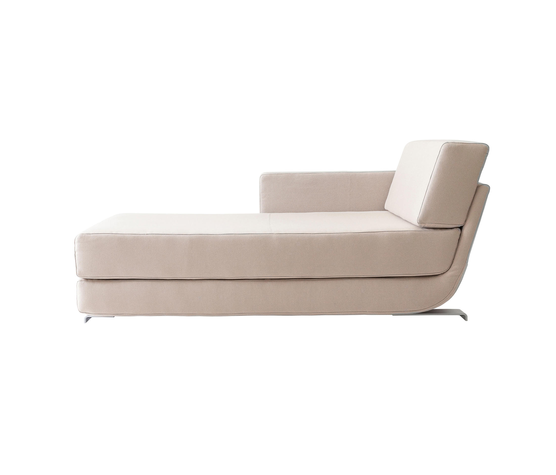 Lounge chaise long sofa beds from softline a s architonic - Sofa bed with chaise lounge ...