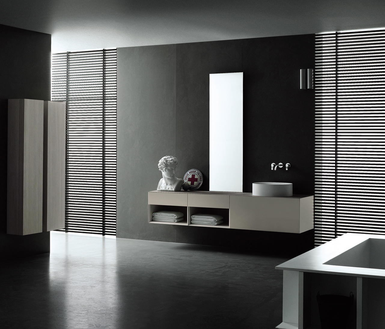 I fiumi st mobili lavabo boffi architonic for Boffi salle de bain