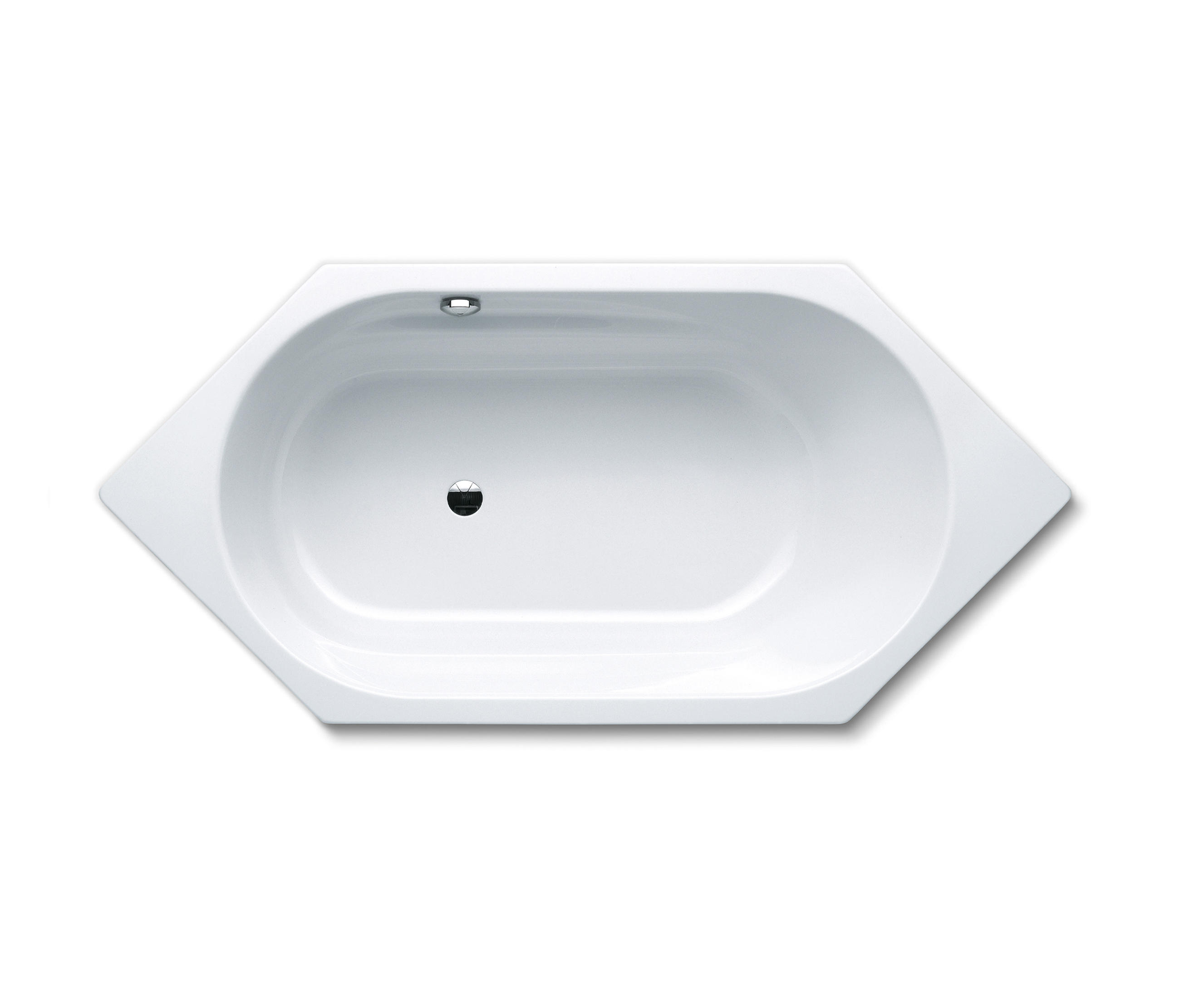 Шестиугольная акриловая ванна