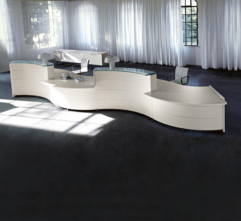 Luna   Reception desks   Sinetica Industries