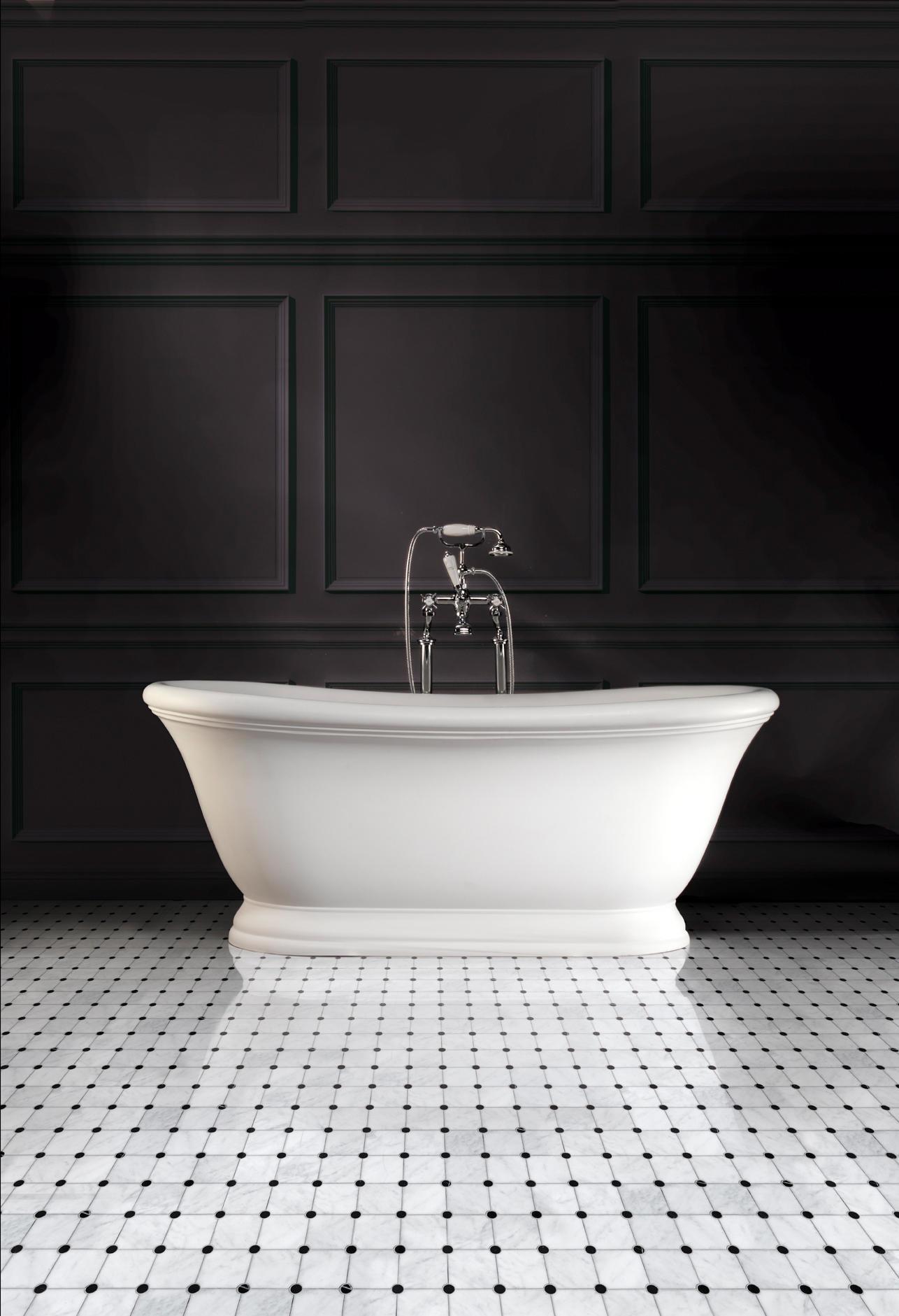 aurora bathtub free standing baths from devon devon. Black Bedroom Furniture Sets. Home Design Ideas