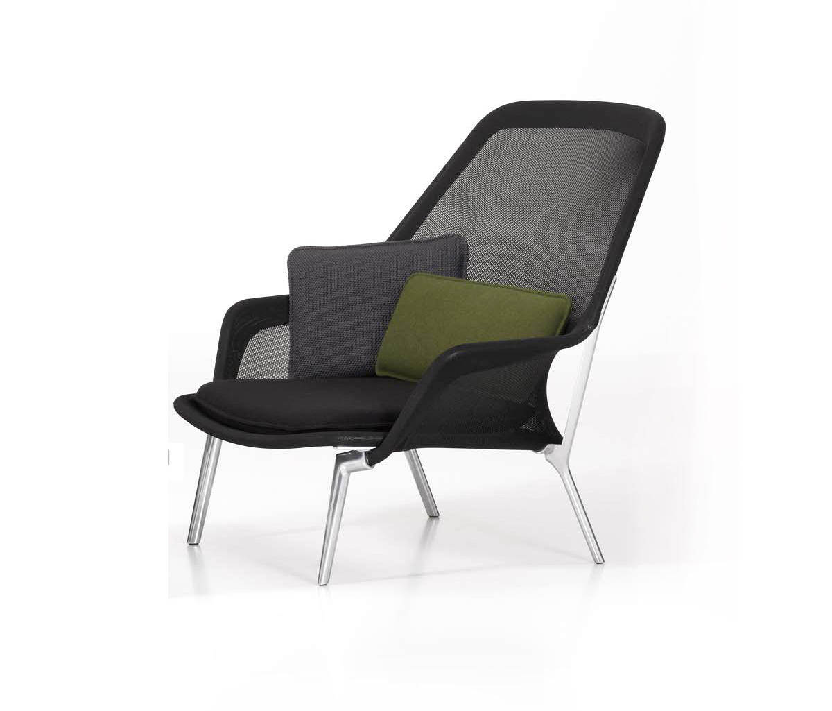 slow chair loungesessel von vitra architonic. Black Bedroom Furniture Sets. Home Design Ideas