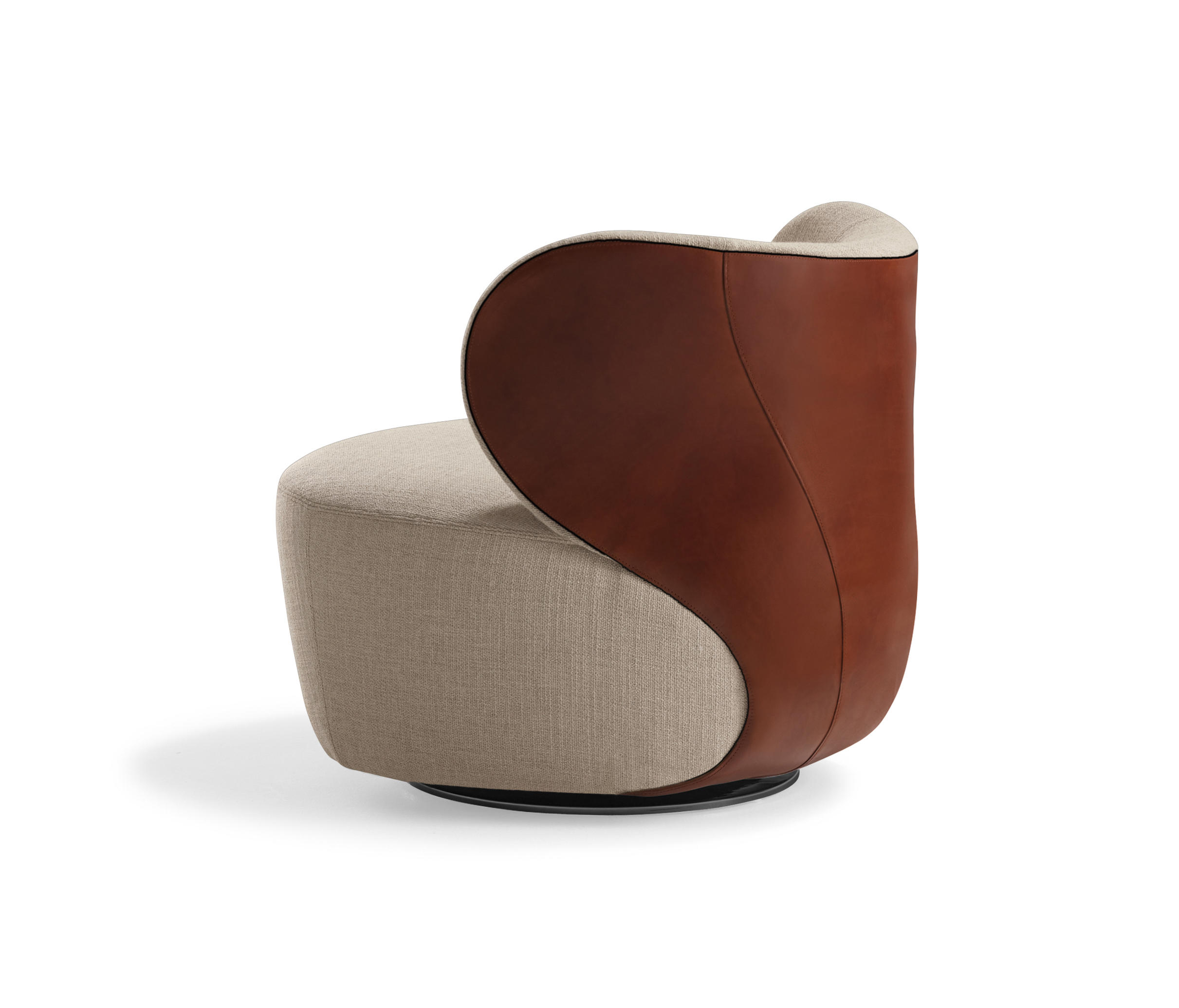 bao armchair lounge chairs from walter knoll architonic. Black Bedroom Furniture Sets. Home Design Ideas