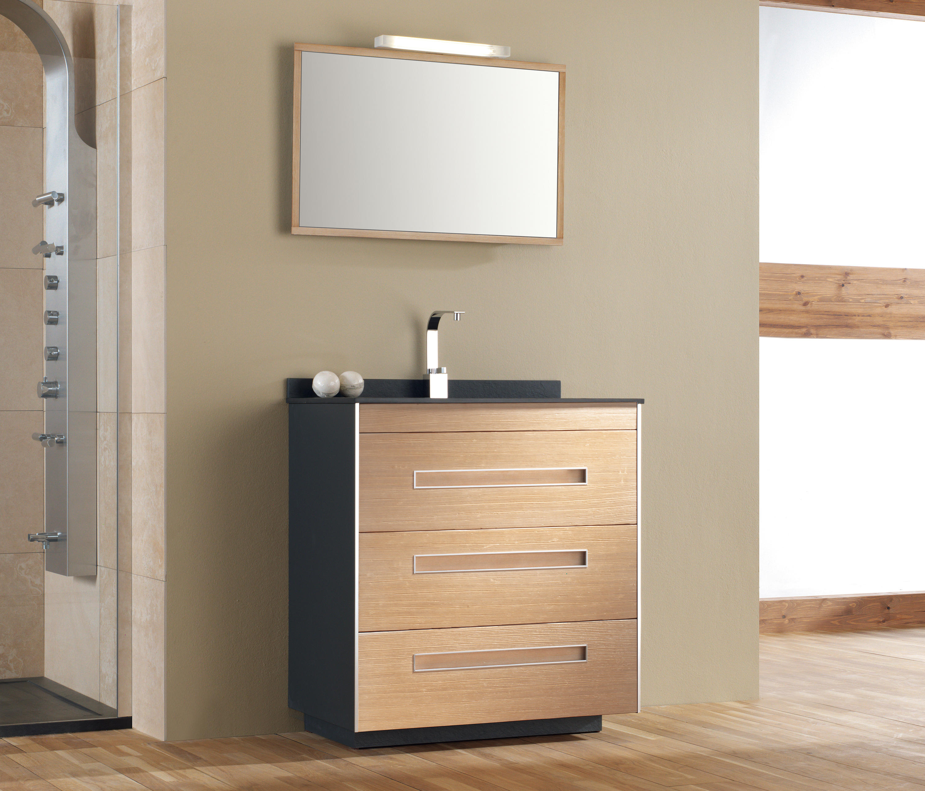 COLORS PINE BEECH - Vanity units from FIORA | Architonic