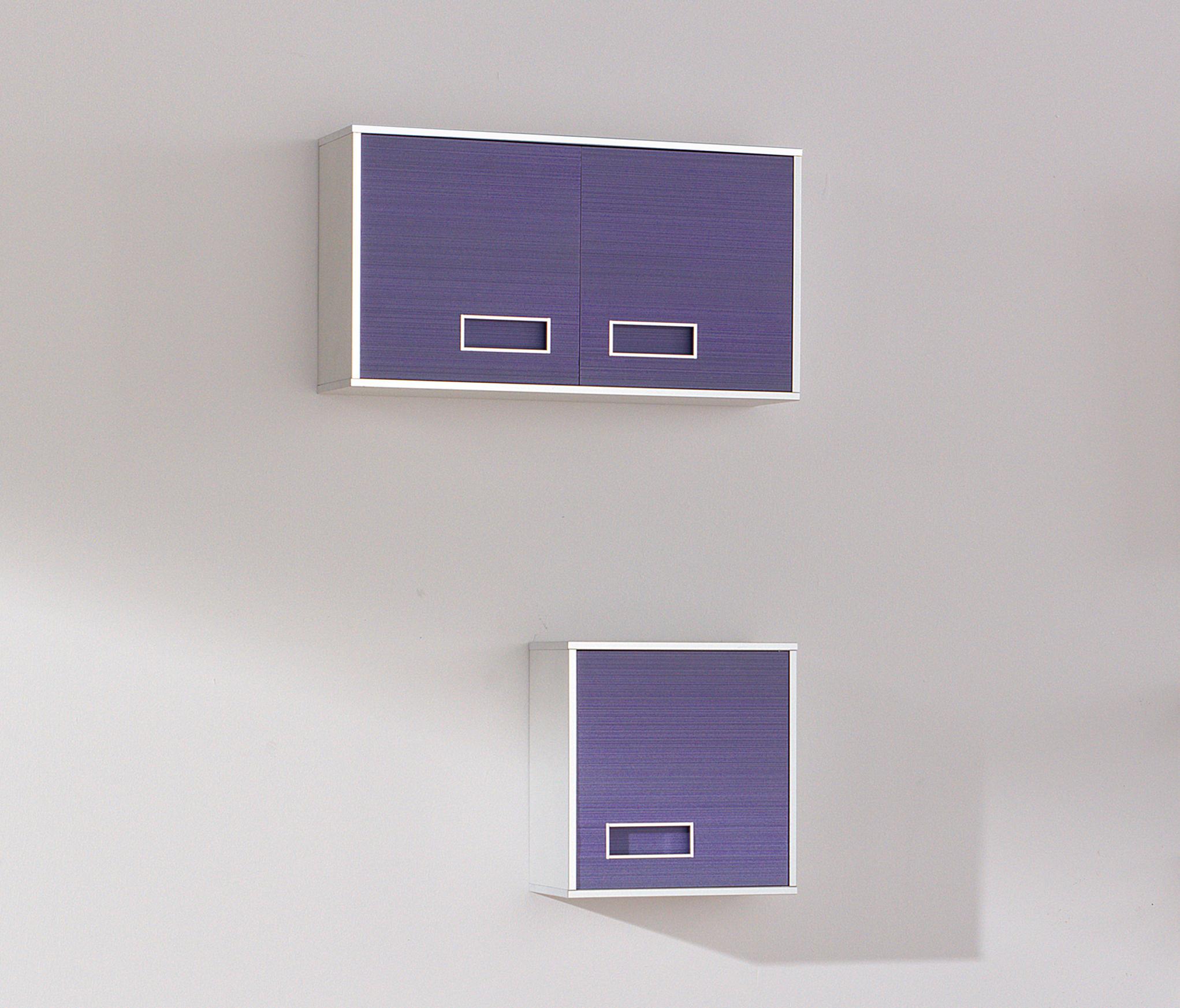 Colors lignes lilas armoires de salle de bains de fiora - Fiora salle de bain ...