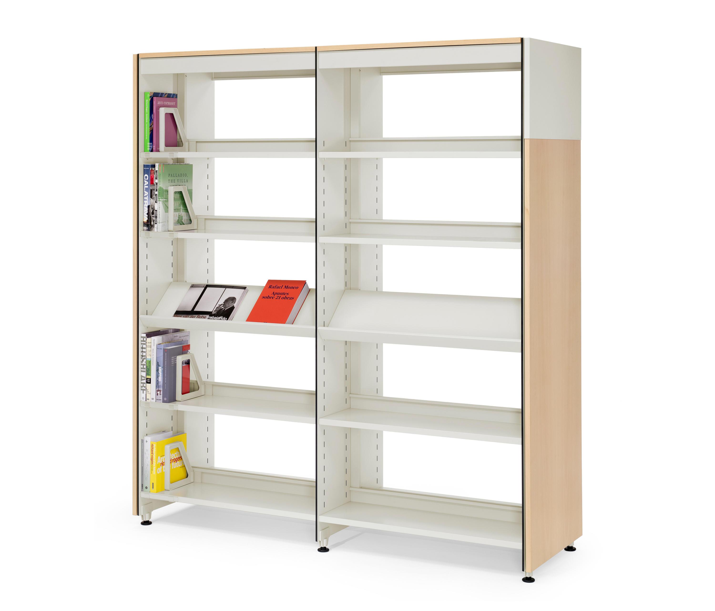 Практичные библиотечные стеллажи для офиса от mobles 114.