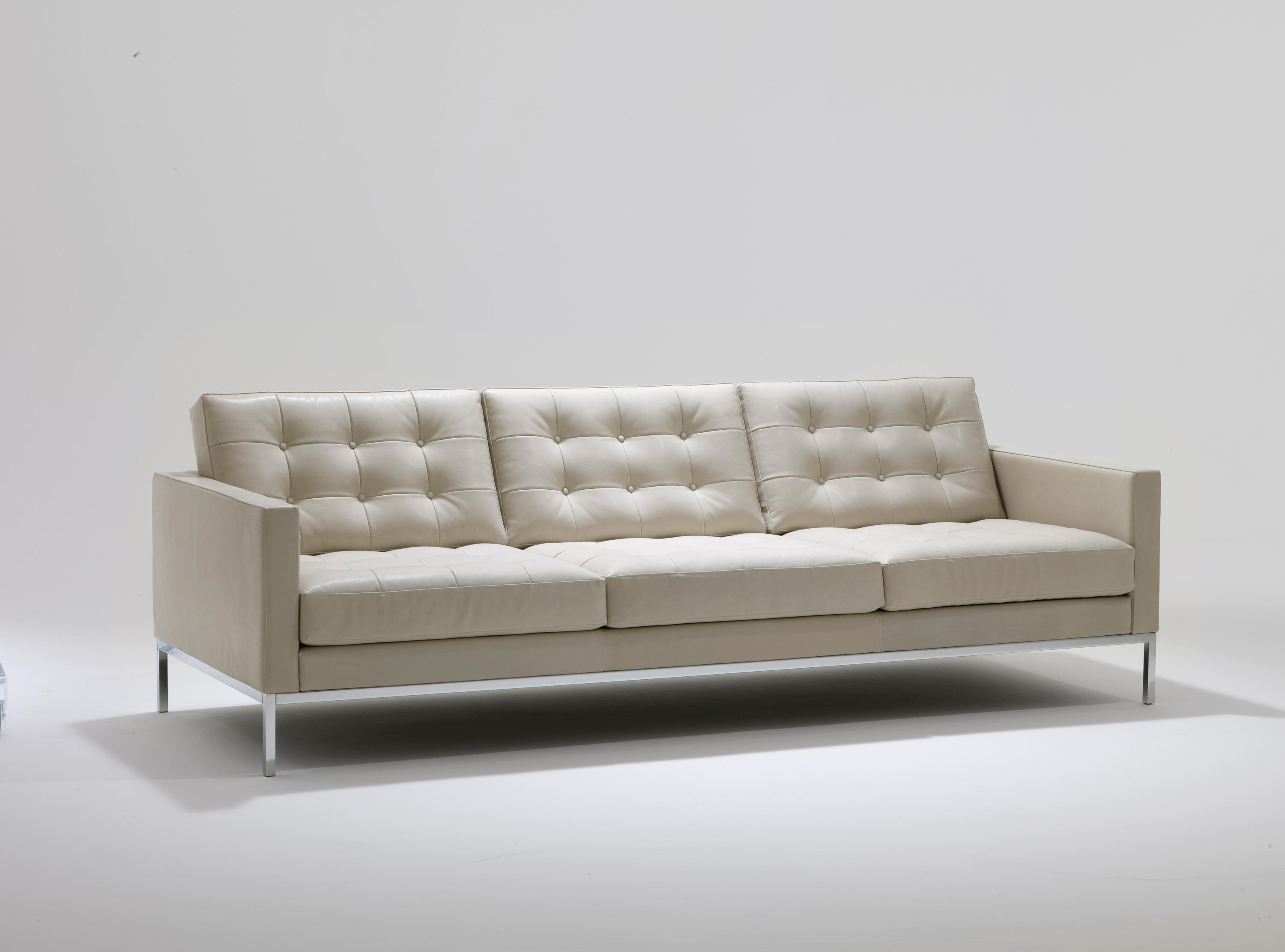 Florence Knoll Lounge 3 Seat Sofa Lounge Sofas From Knoll International Architonic