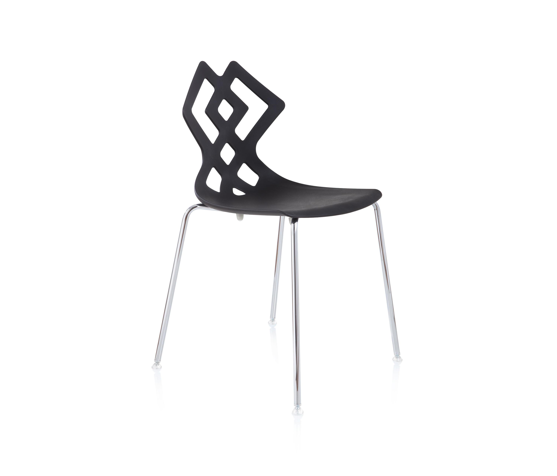 Zahira stuhl restaurantst hle von alma design architonic for Stuhl design italien