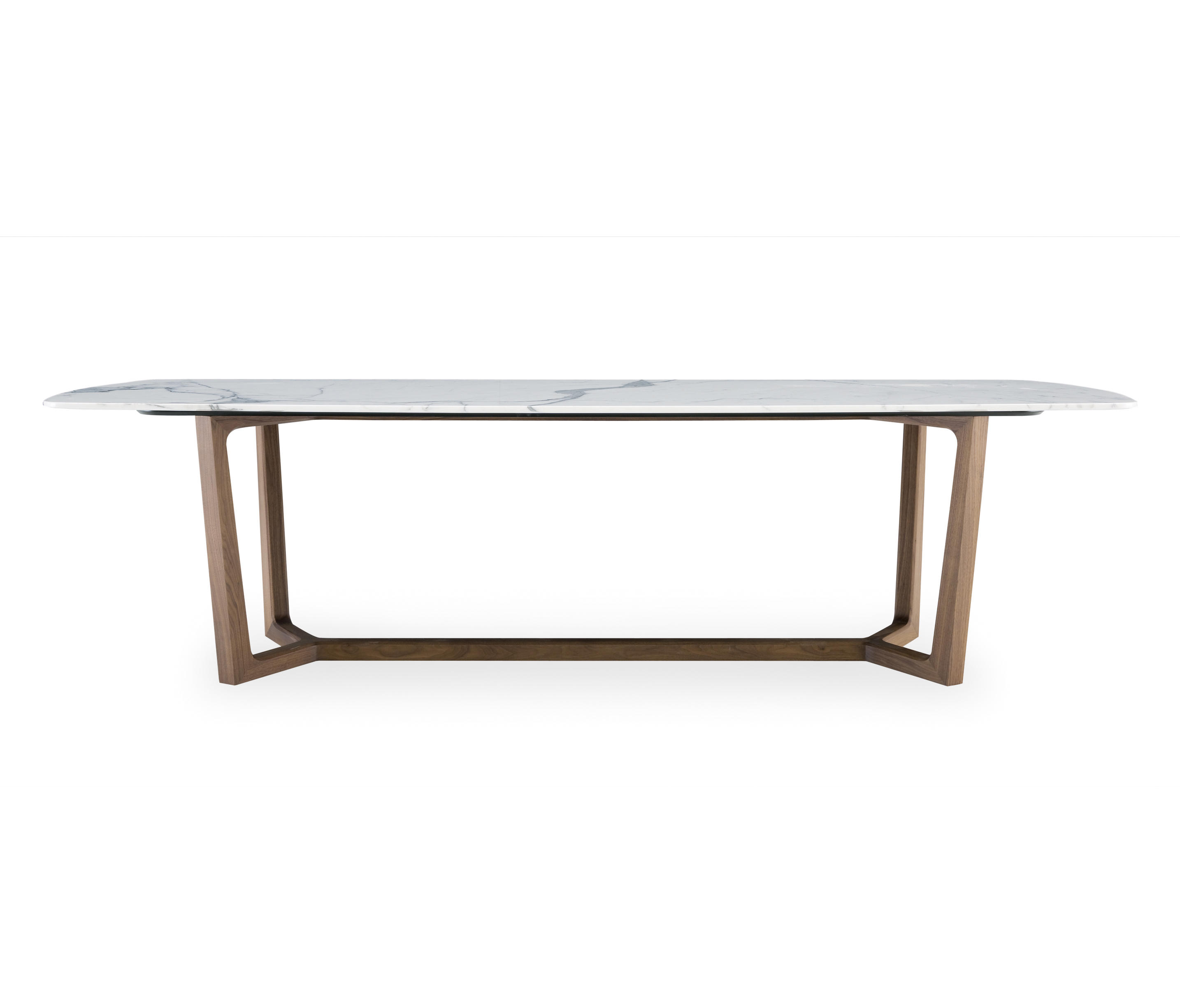 Concorde table dining tables from poliform architonic - Table ronde pied central inox ...