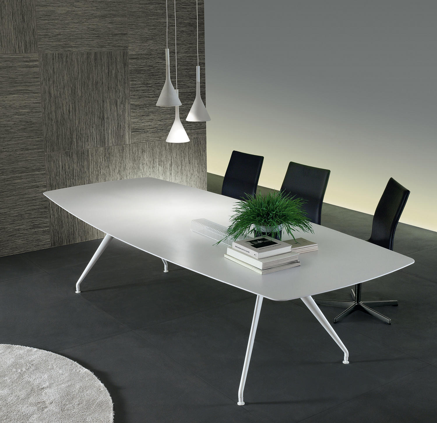 DINING TABLES WITH TOP IN ACRYLIC High quality designer DINING