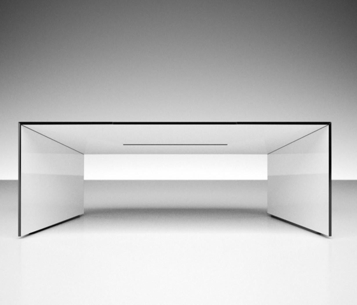 Schreibtisch futuristisch  COMMENTOR SCHREIBTISCH - Objekttische von Rechteck   Architonic