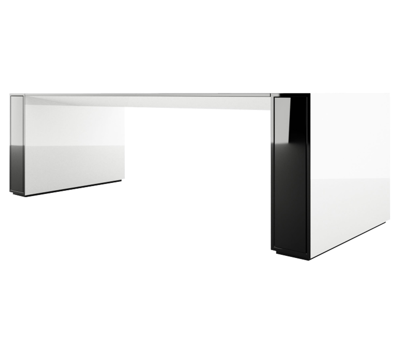 Schreibtisch futuristisch  Jahnke Computertisch Csl : Stilista designer schwarz glas ...