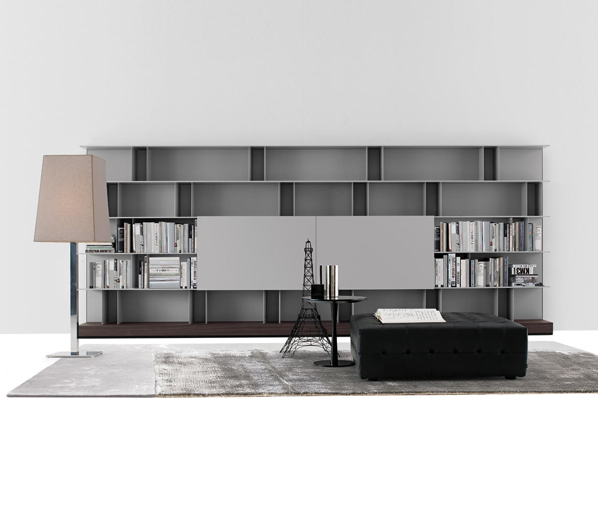 Skip system wall storage systems from poliform architonic for Decor systems