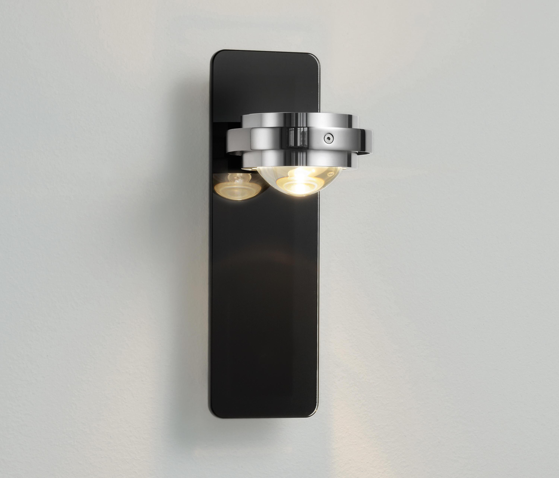 ocular wandleuchte anthrazit allgemeinbeleuchtung von licht im raum architonic. Black Bedroom Furniture Sets. Home Design Ideas