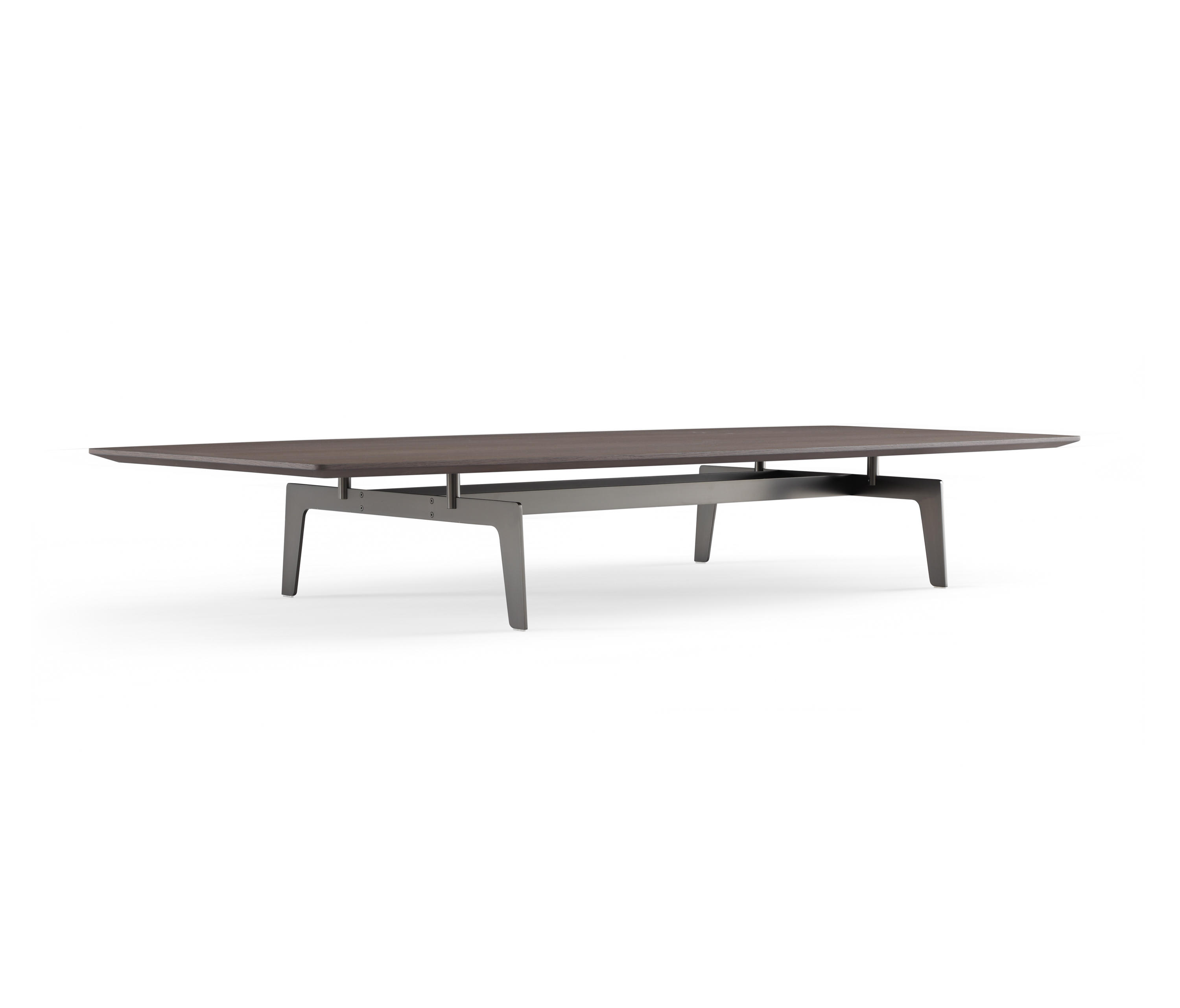 Tribeca coffee table - Tisch oval weiay ...