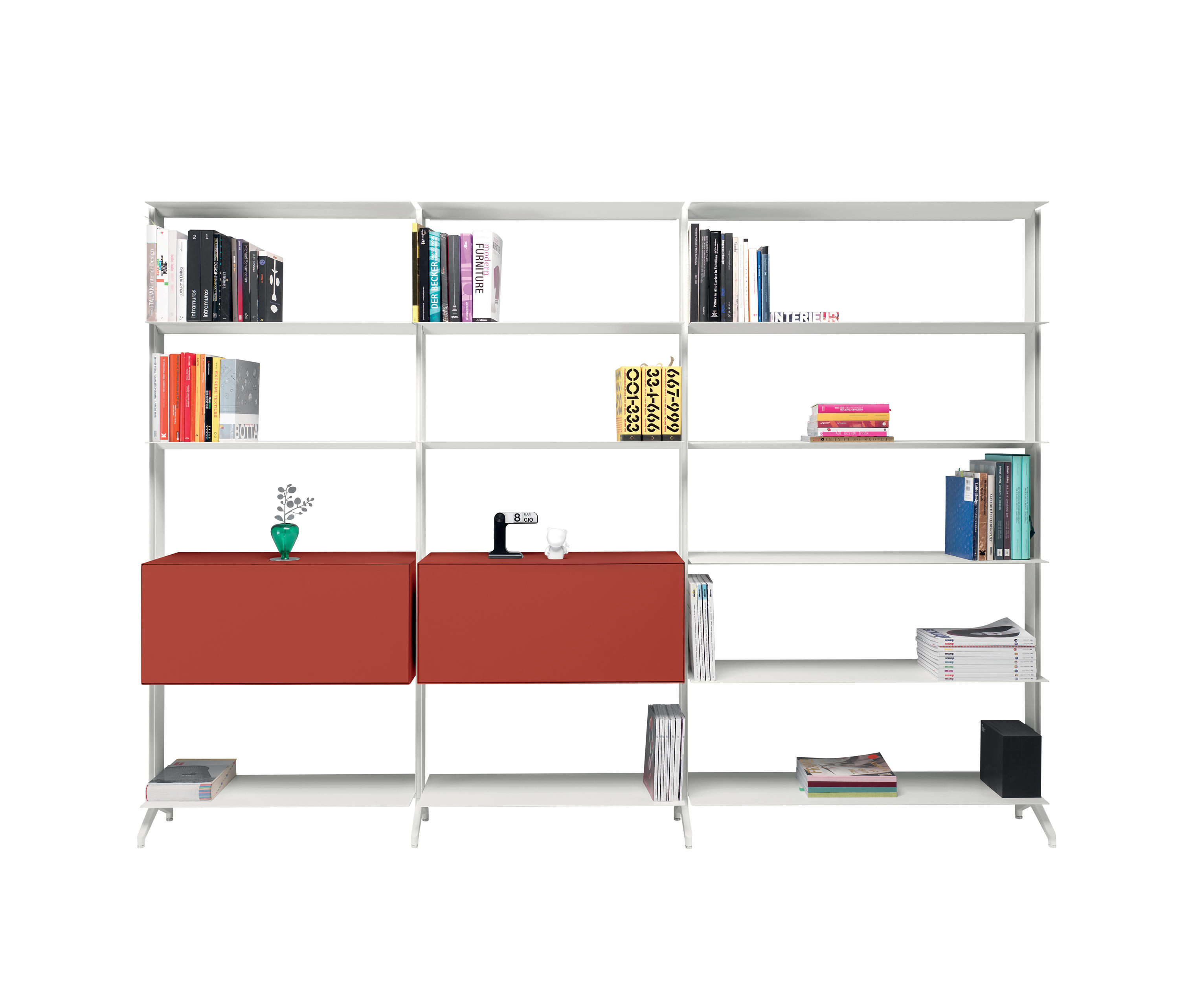 Aline Bookcase Shelving From Alias Architonic
