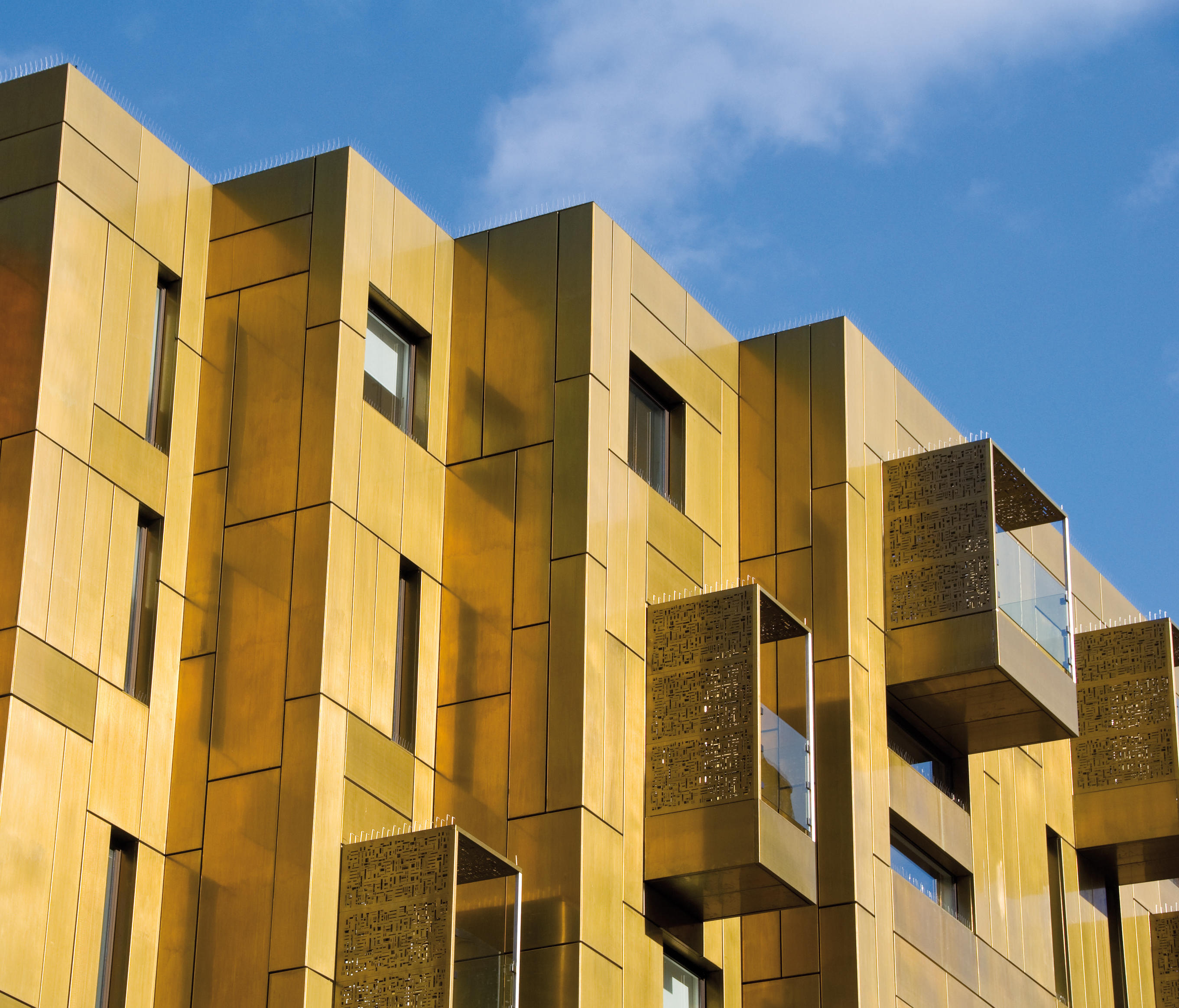 Tecu 174 Brass Facade Facade Systems From Kme Architonic