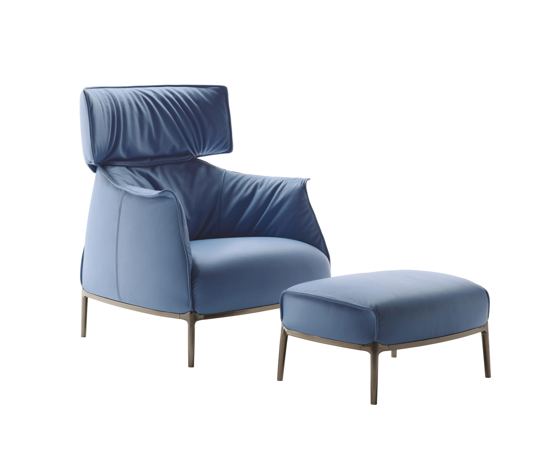 Archibald king armchairs from poltrona frau architonic for Poltronafrau