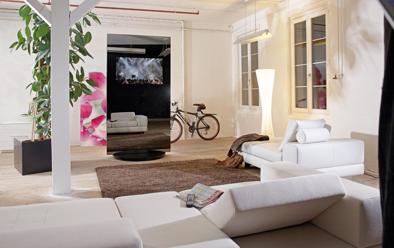 Raumteiler Mit Tv tv multimedia panel multimedia ständer rüttimann architonic