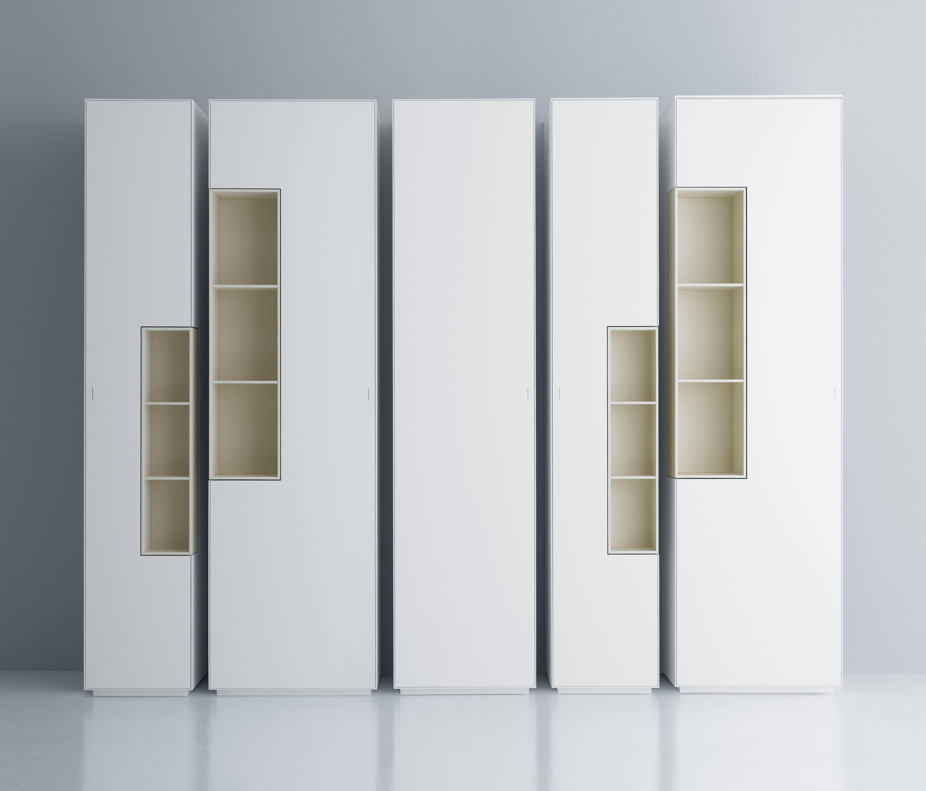 inmotion wall system cabinets from mdf italia architonic. Black Bedroom Furniture Sets. Home Design Ideas