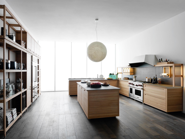 Sine tempore cucine a parete valcucine architonic for Cocinas con parquet