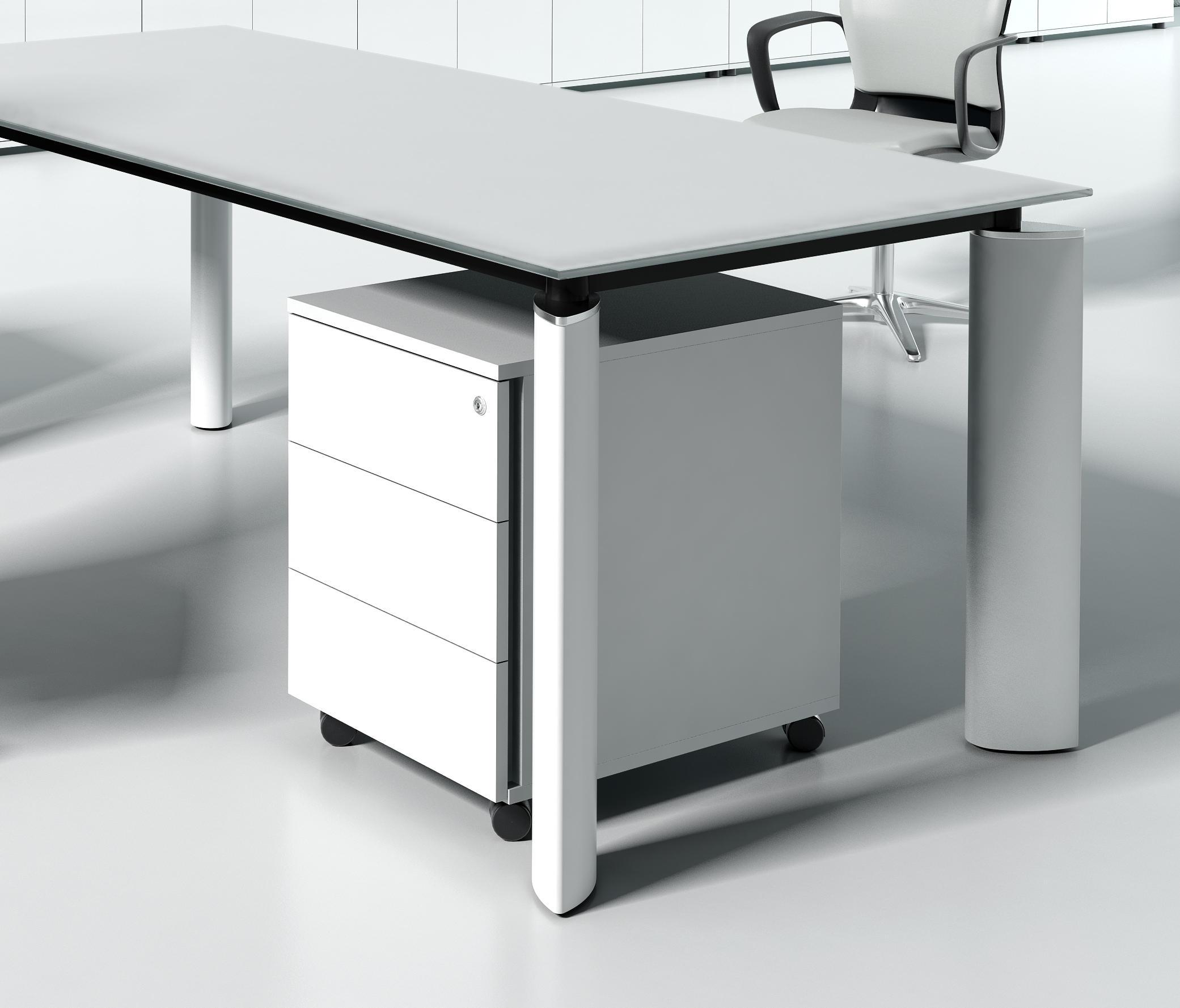 Crystal cassettiere ufficio mdd architonic for Cassettiere ufficio