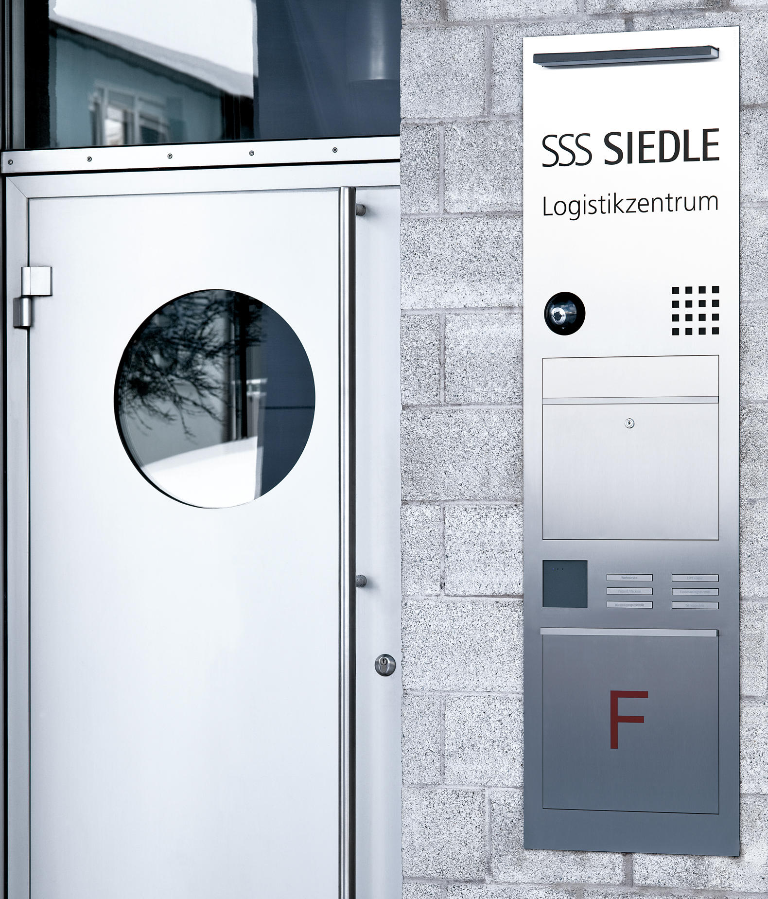 siedle access intercoms exterior from siedle architonic. Black Bedroom Furniture Sets. Home Design Ideas