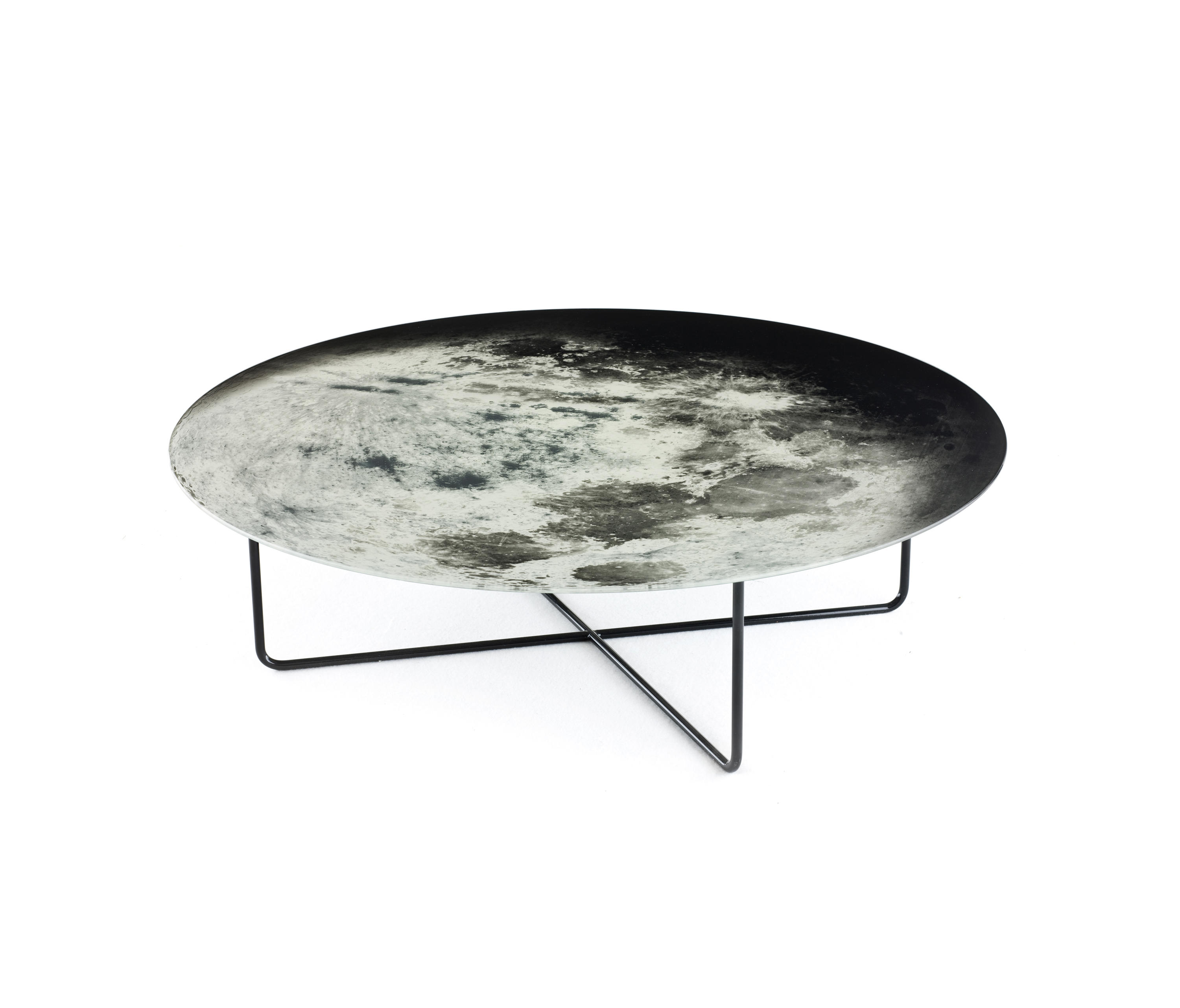 My moon my mirror table coffee tables from diesel by for 1 2 moon table
