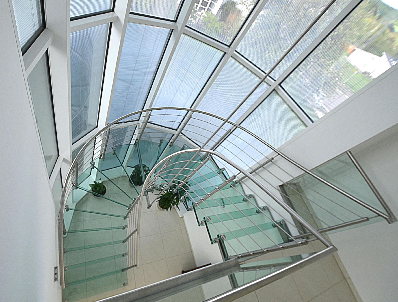 sevilla vetro de siller treppen escaleras de vidrio