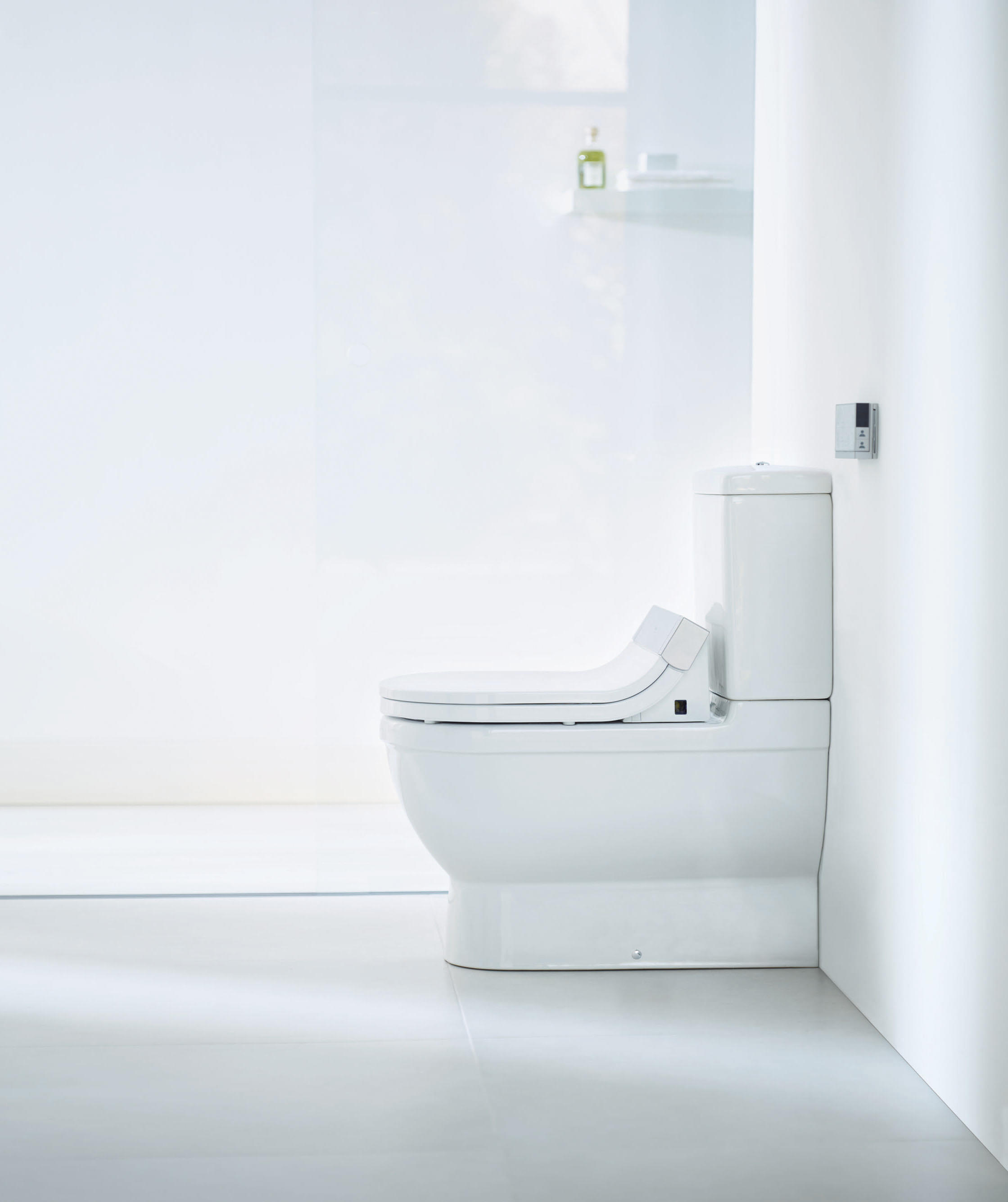 starck c toilet close coupled wc from duravit architonic. Black Bedroom Furniture Sets. Home Design Ideas