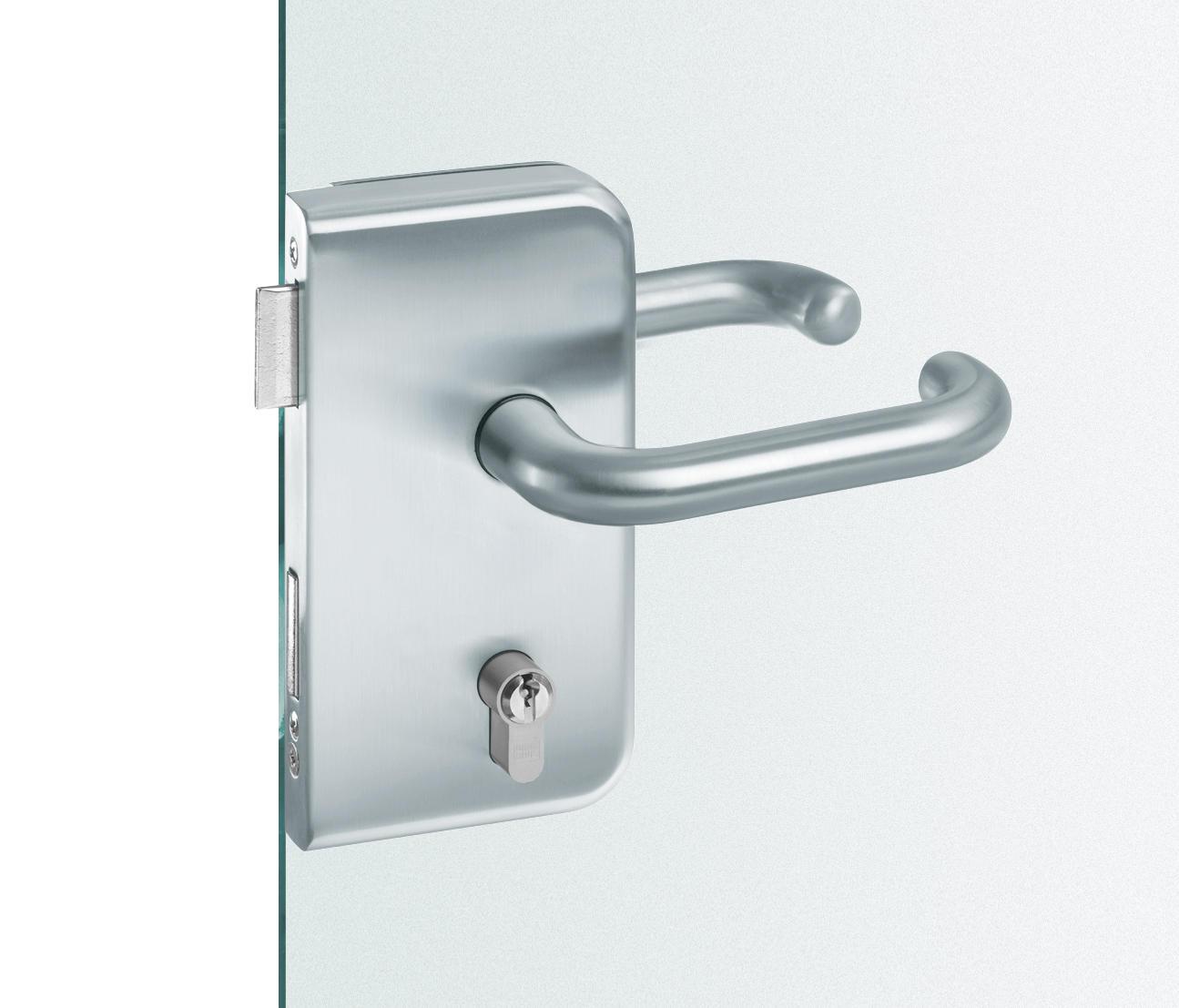 fsb 13 4223 glass door fitting handle sets for glass. Black Bedroom Furniture Sets. Home Design Ideas