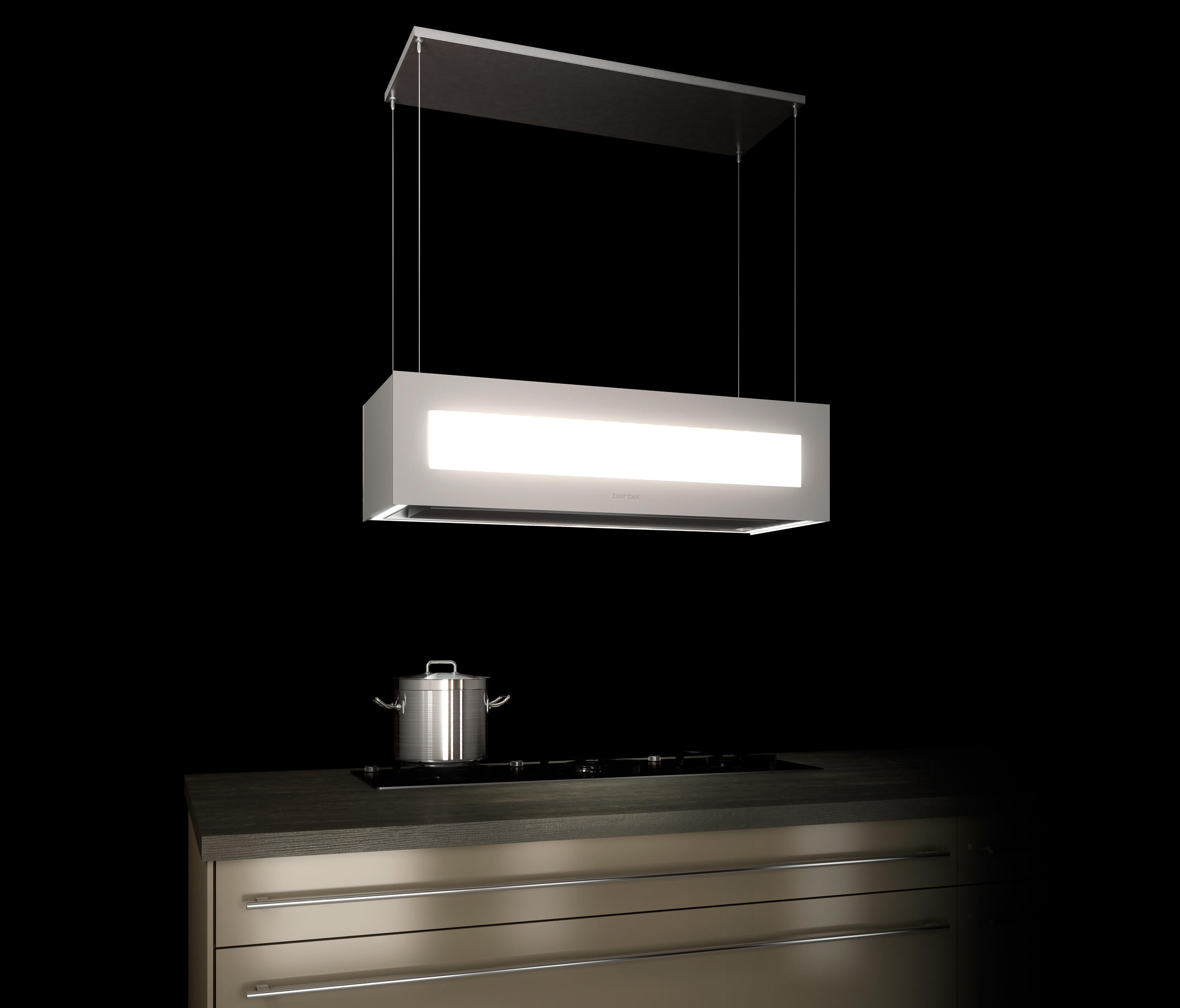 ceiling lift hood skyline edge extractors from berbel. Black Bedroom Furniture Sets. Home Design Ideas
