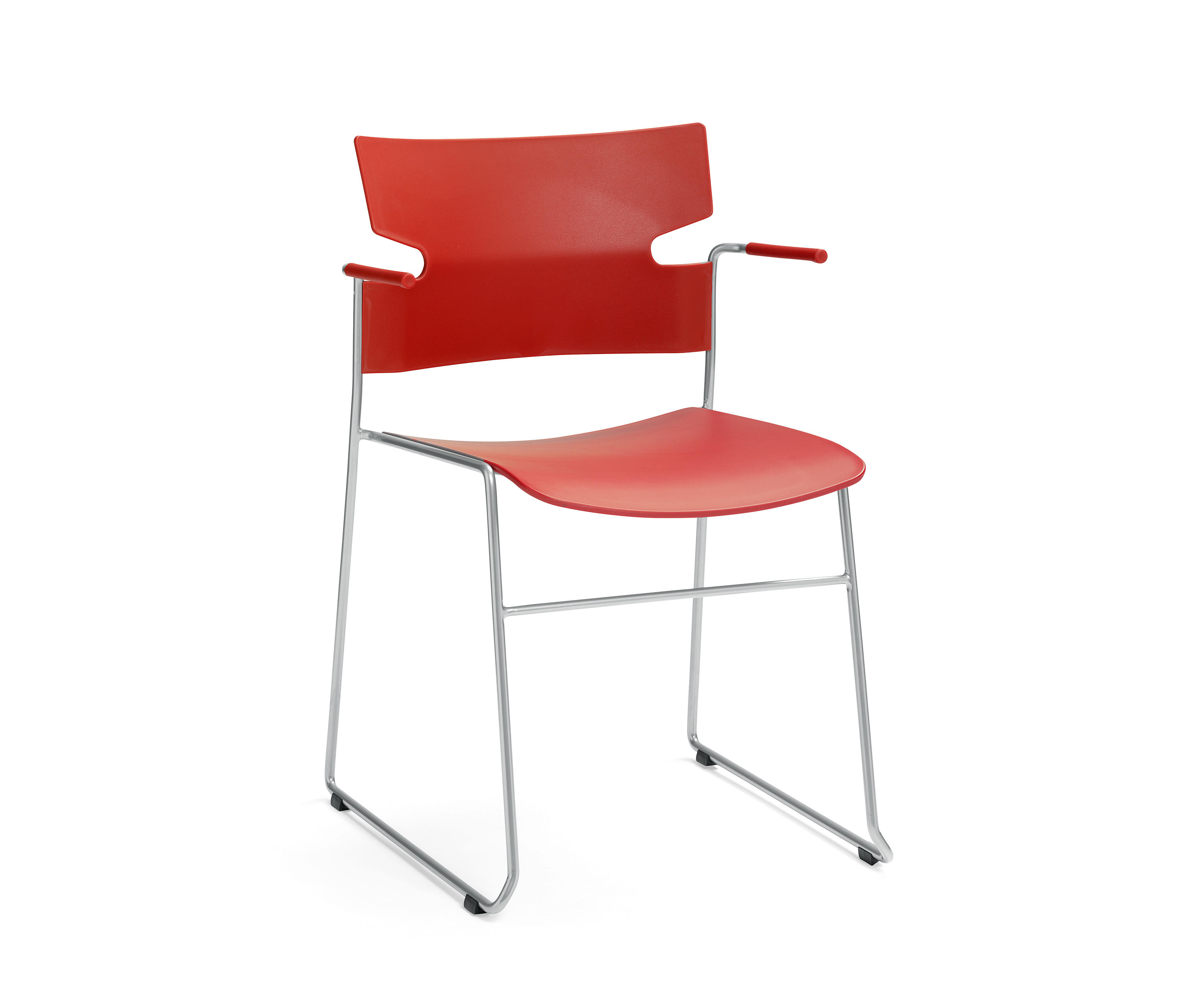... Stack Chair By Materia | Visitors Chairs / Side Chairs ... Great Pictures