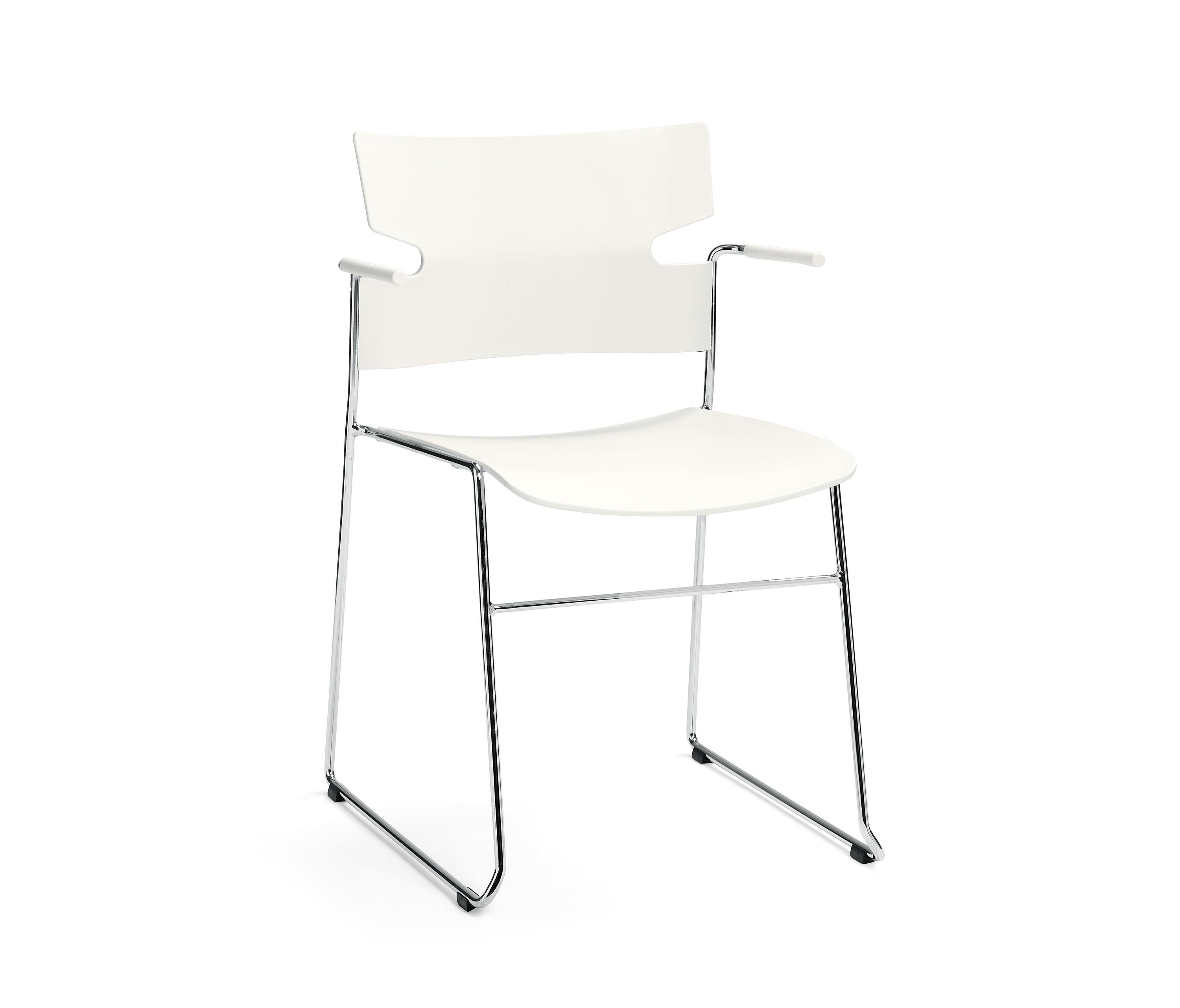 ... Stack Chair By Materia | Visitors Chairs / Side Chairs Home Design Ideas