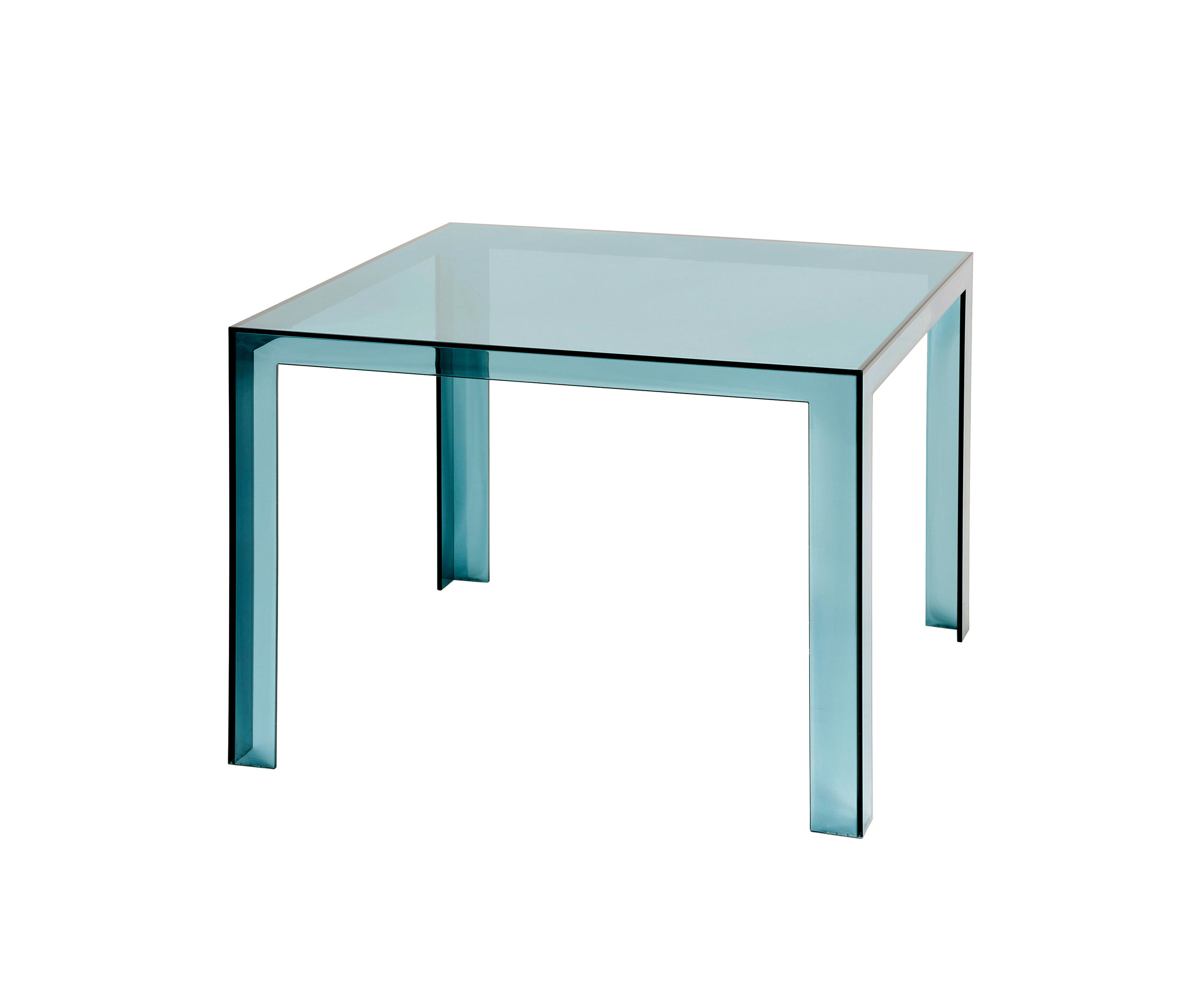 INVISIBLE TABLE Dining Tables From Kartell Architonic - Kartell invisible coffee table