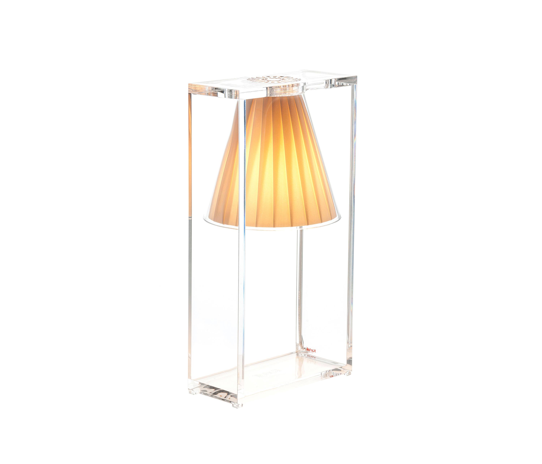 light air luminaires de table de kartell architonic. Black Bedroom Furniture Sets. Home Design Ideas