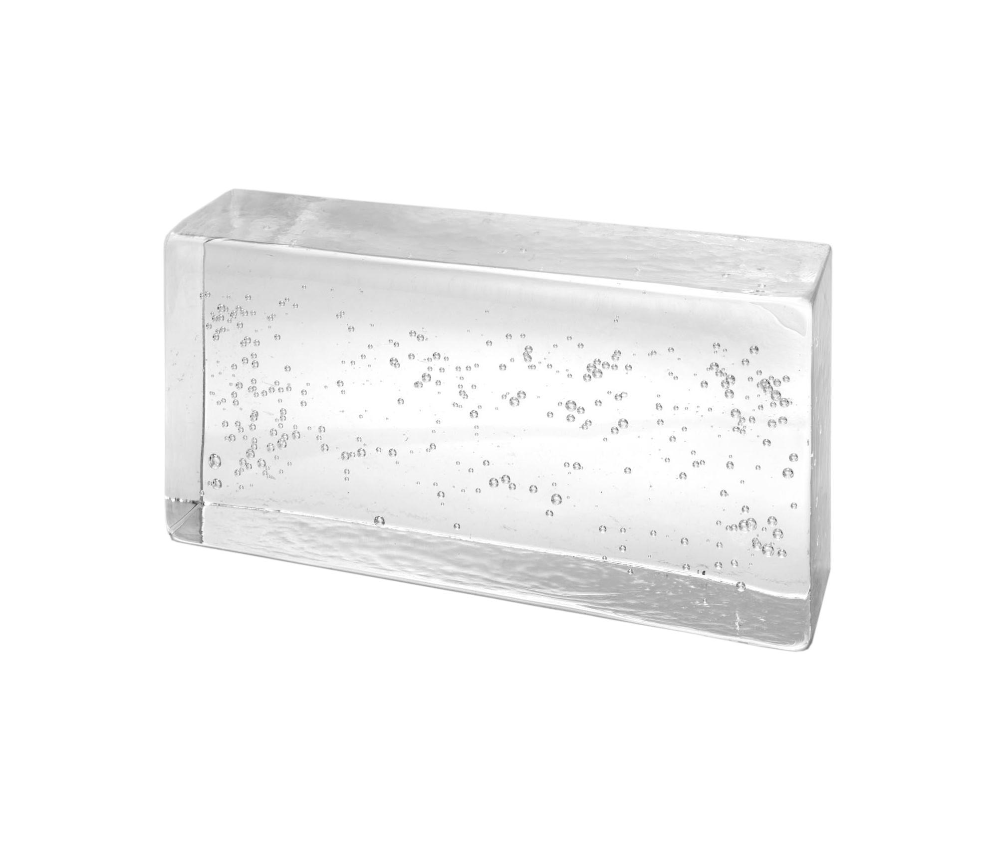Poesia Brique De Verre mattoni in vetro | classic bubble | architonic