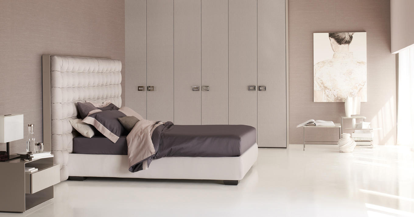 Sanya bed double beds from flou architonic - Camere da letto flou ...