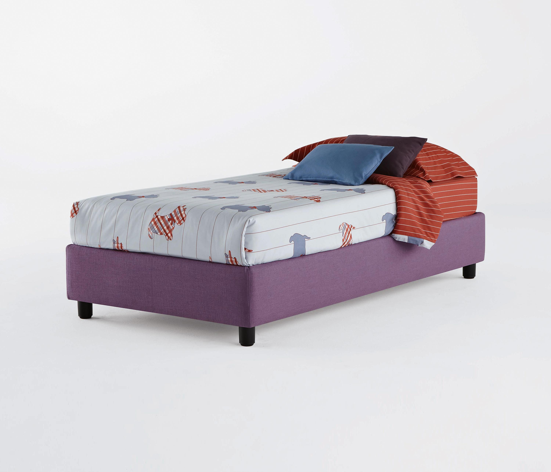 sommier bett einzelbetten von flou architonic. Black Bedroom Furniture Sets. Home Design Ideas