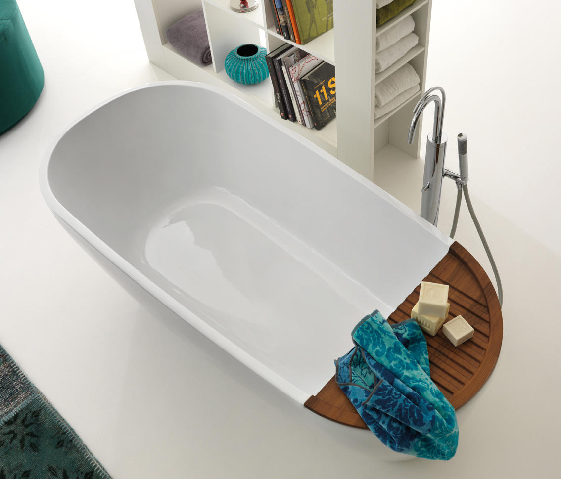 aquatech bath tub free standing baths from kerasan architonic. Black Bedroom Furniture Sets. Home Design Ideas